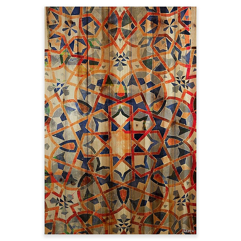 Parvez Taj Figuig 24 Inch X 36 Inch Pine Wood Wall Art | Bed Within 2017 Blended Fabric Aladin European Wall Hangings (View 2 of 20)