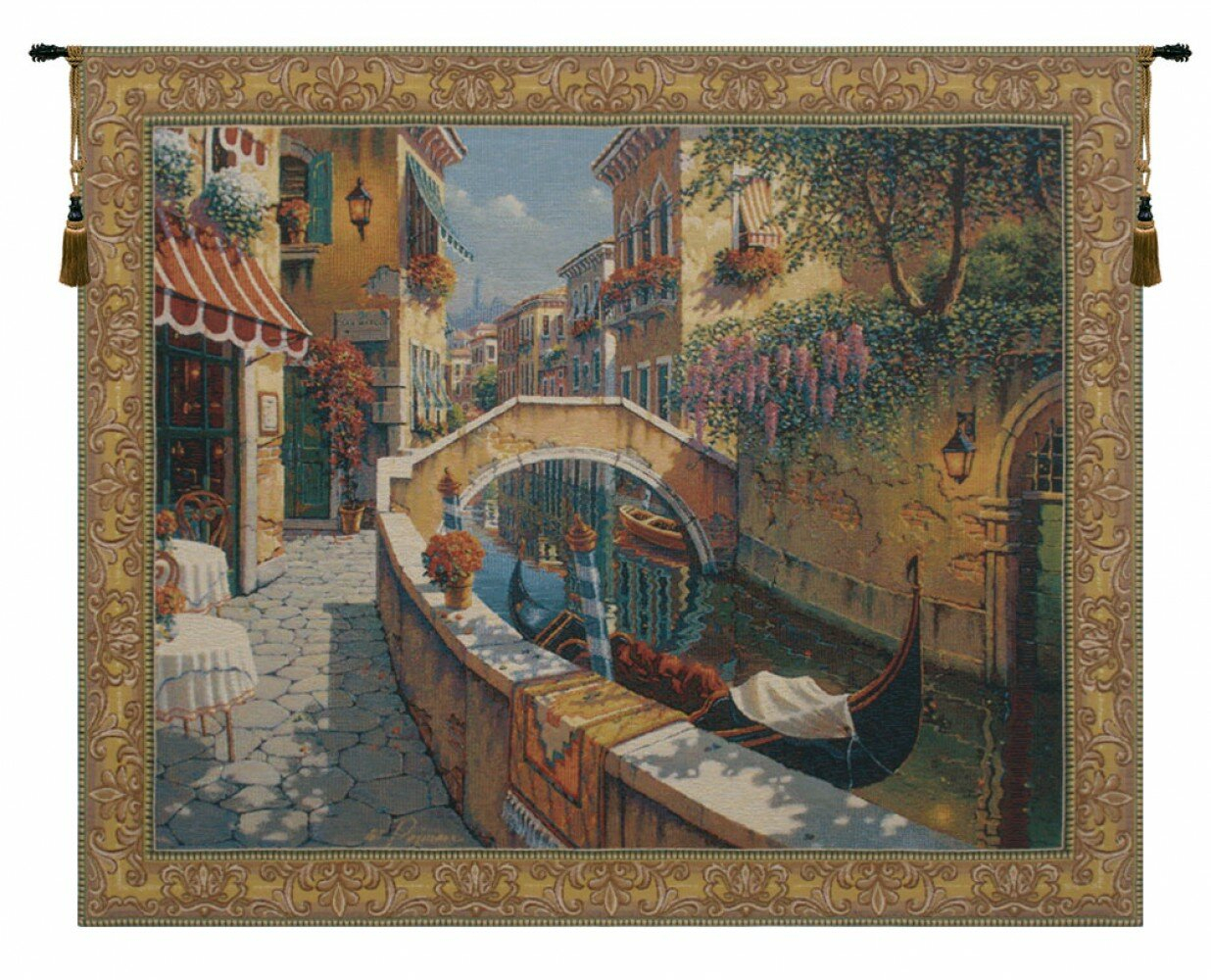 Passage To San Marcorobert Pejman Tapestry Intended For Current Blended Fabric Morning Reflections By Robert Pejman Flanders Tapestries (View 2 of 8)