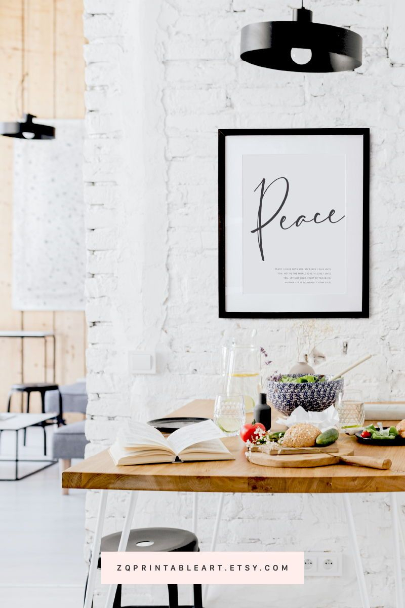 Peace I Leave With You – John 14:27 | Modern Bible Verse With Most Current Peace I Leave With You Wall Hangings (View 4 of 20)