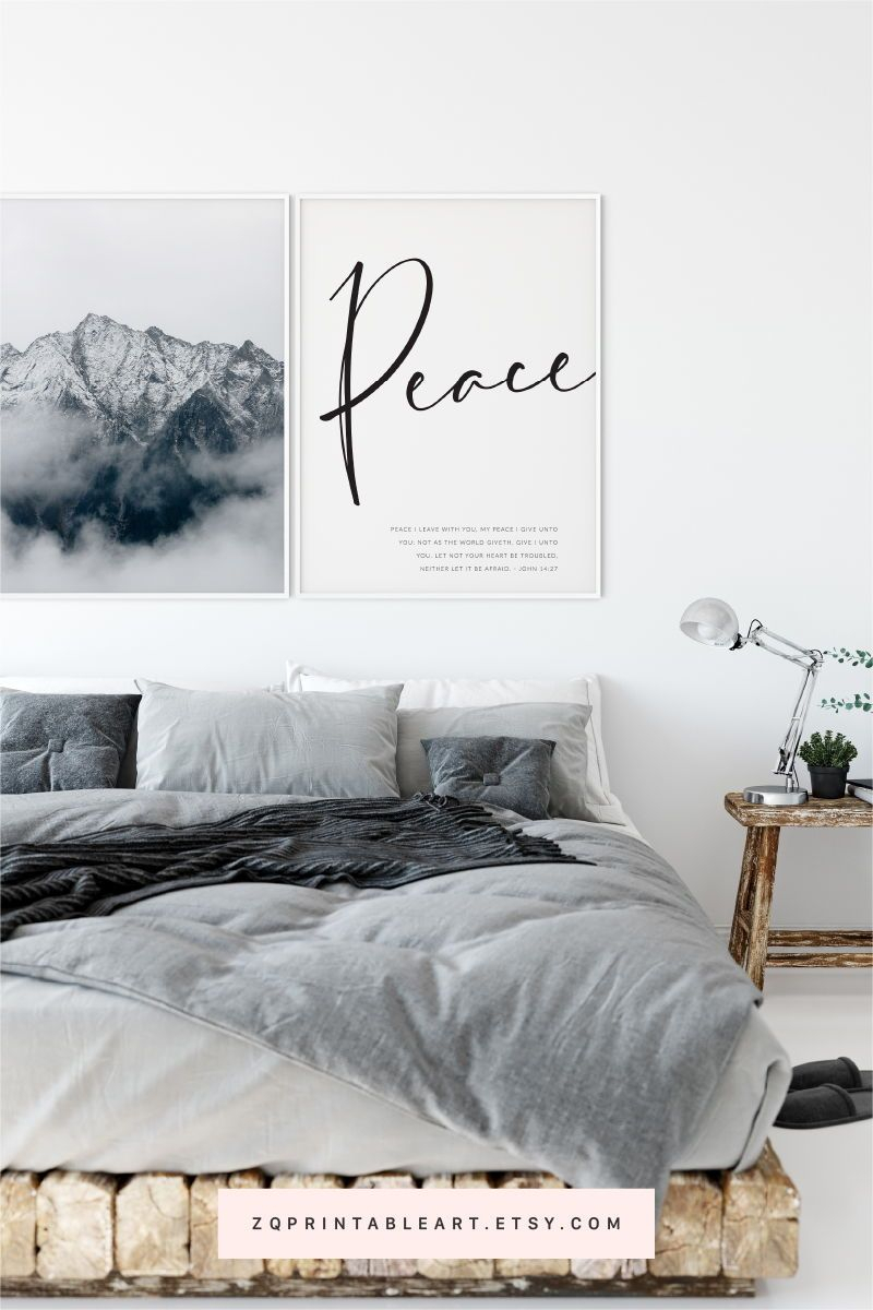 Peace I Leave With You – John 14:27 | Modern Bible Verse With Newest Peace I Leave With You Wall Hangings (View 10 of 20)
