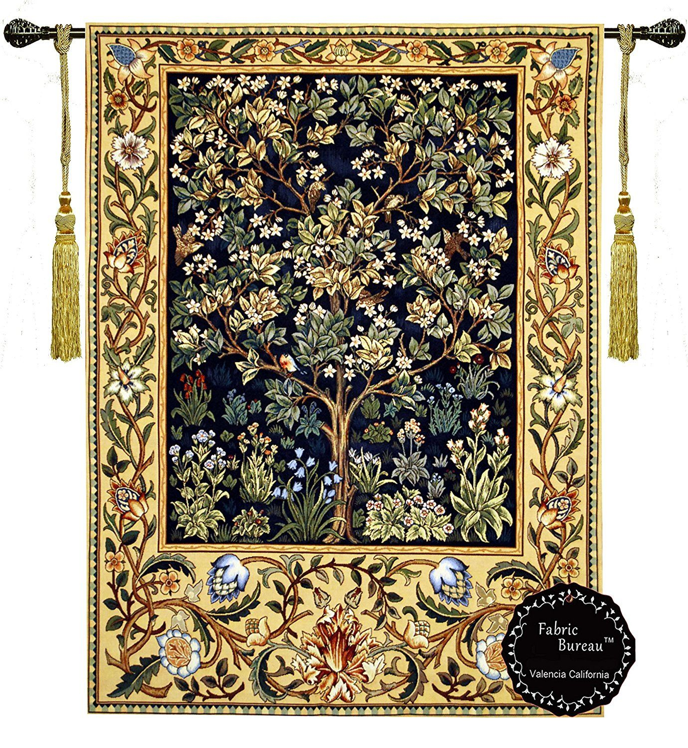 Pin On Homedecor With Newest Blended Fabric Chateau Bellevue European Tapestries (View 12 of 20)