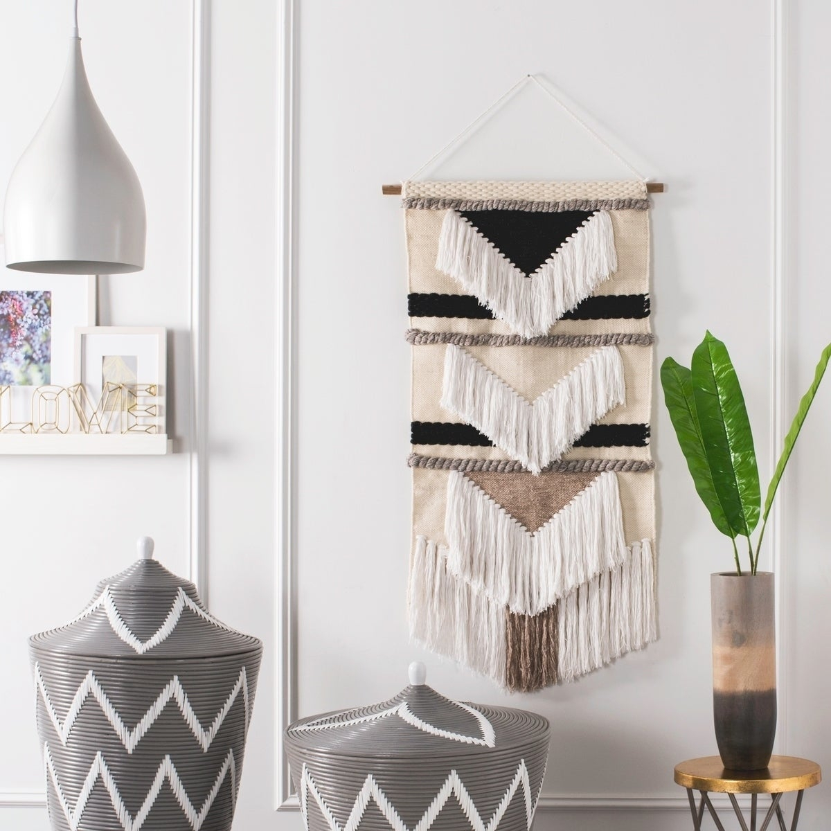 Pin On Macrame For 2017 Blended Fabric Saiful Wall Hangings With Rod (View 18 of 20)