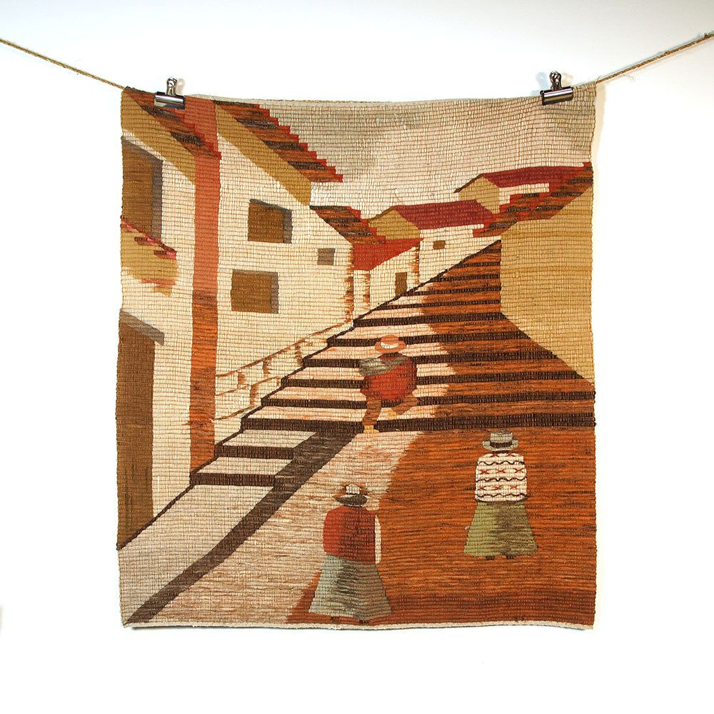 Pin On Vintage Home Dec Regarding Current Blended Fabric Southwestern Bohemian Wall Hangings (View 6 of 20)