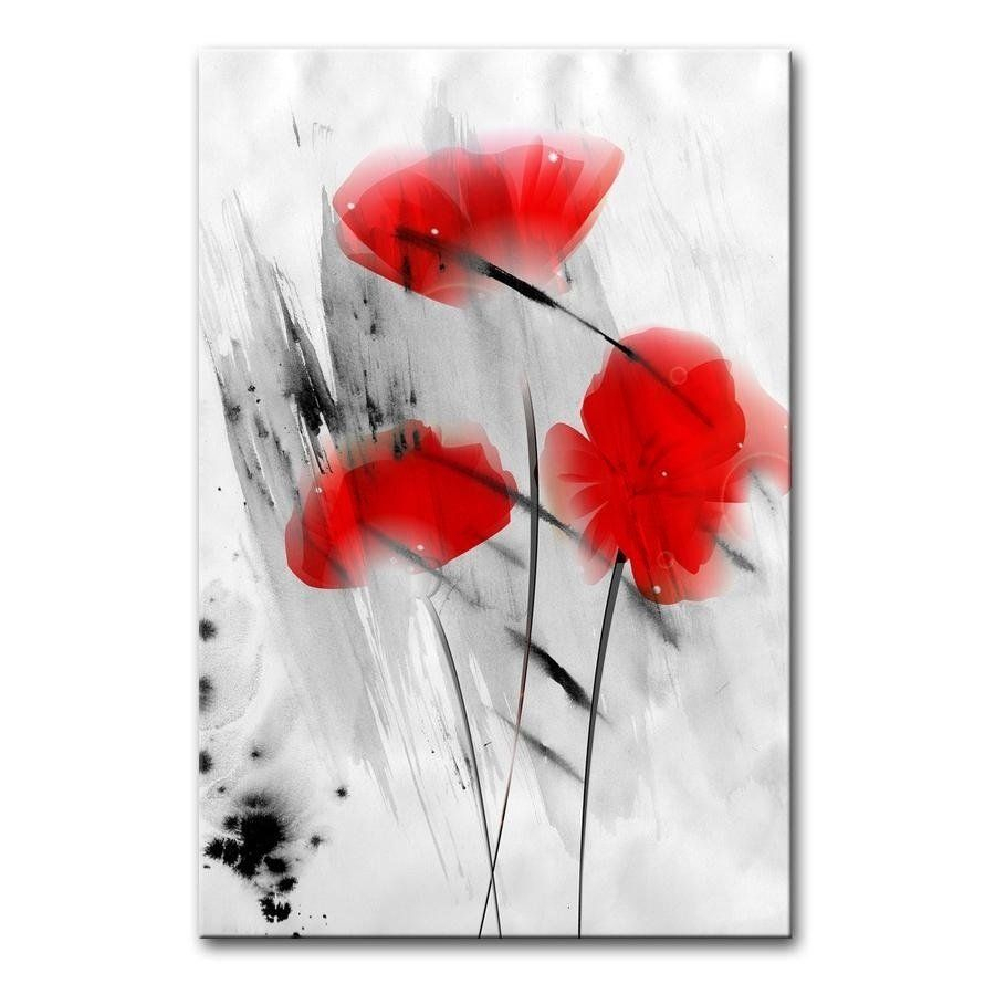 Pin On Wall Art In Most Current Blended Fabric Poppy Red Wall Hangings (View 13 of 20)