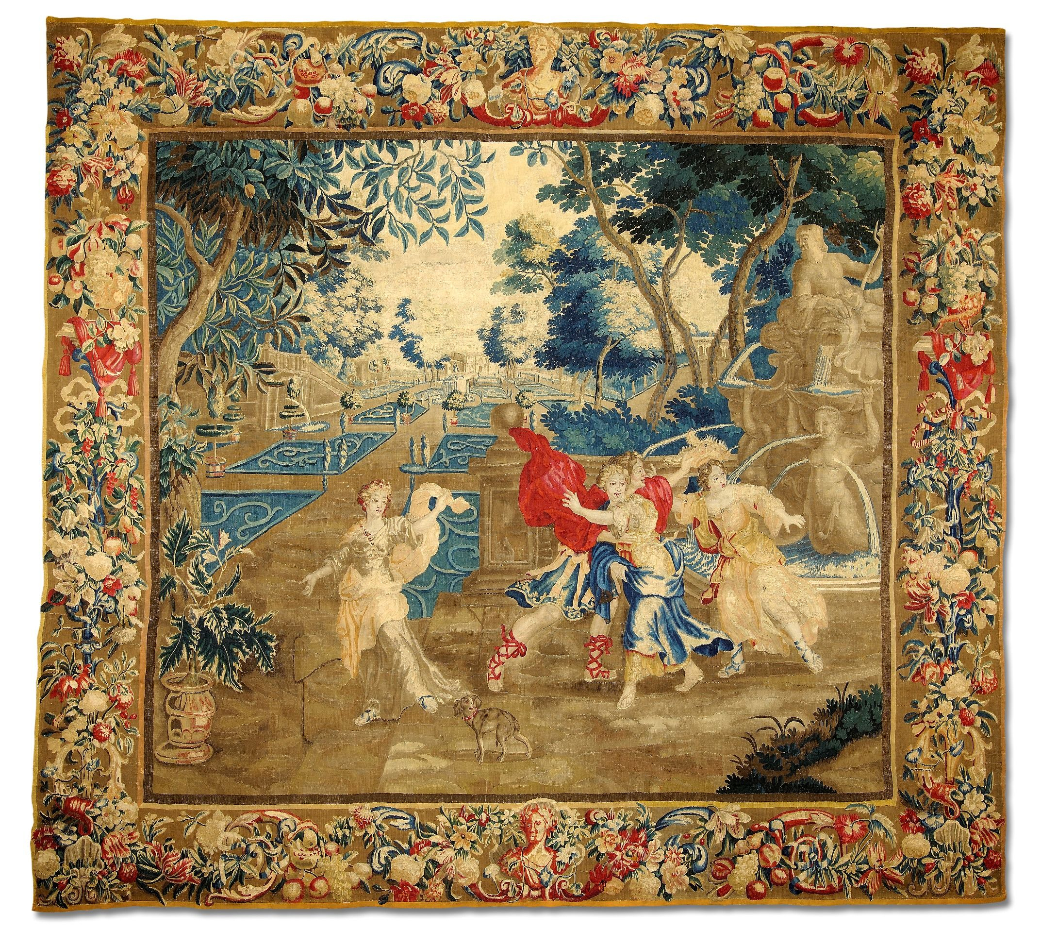 Pincarin On Tapestries   Tapestry, Modern Tapestries Regarding Best And Newest Blended Fabric Classic French Rococo Woven Tapestries (View 8 of 20)