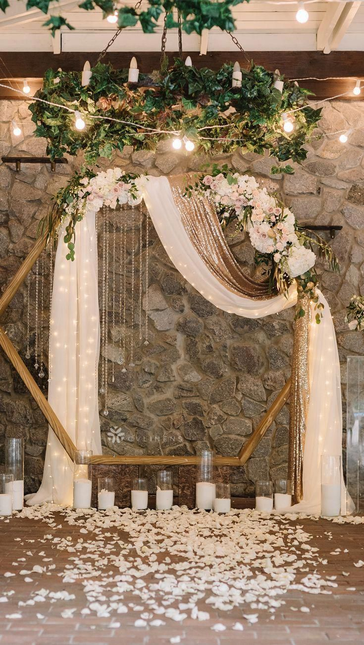 Pinclare Nastri On Dream | Modern Wedding Ceremony In Best And Newest Blended Fabric Spring Party Wall Hangings (View 4 of 20)