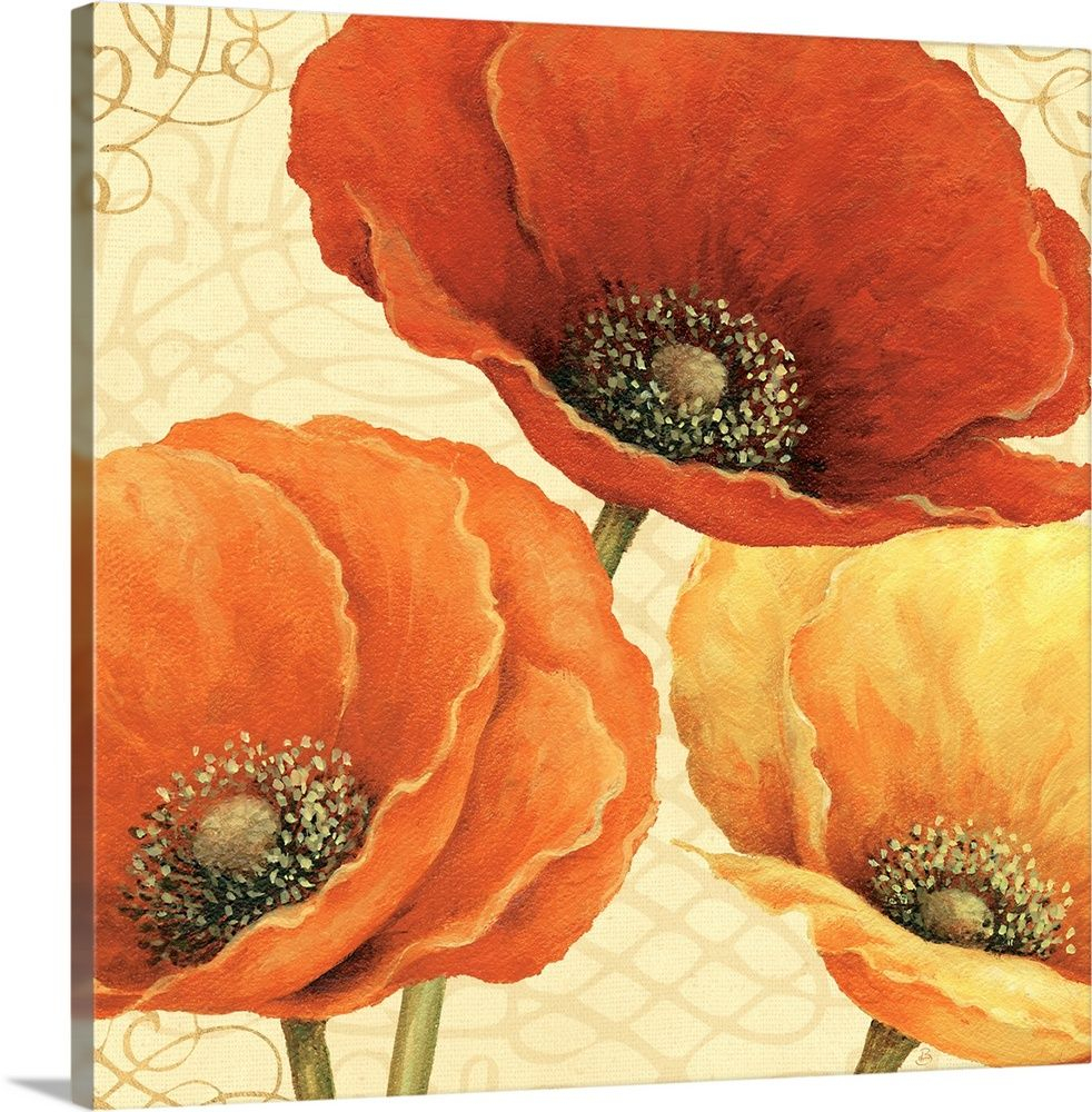 Poppy Spice I | Poppy Art, Floral Wall Art, Wall Art Prints Intended For Most Recently Released Blended Fabric Poppy Red Wall Hangings (View 10 of 20)