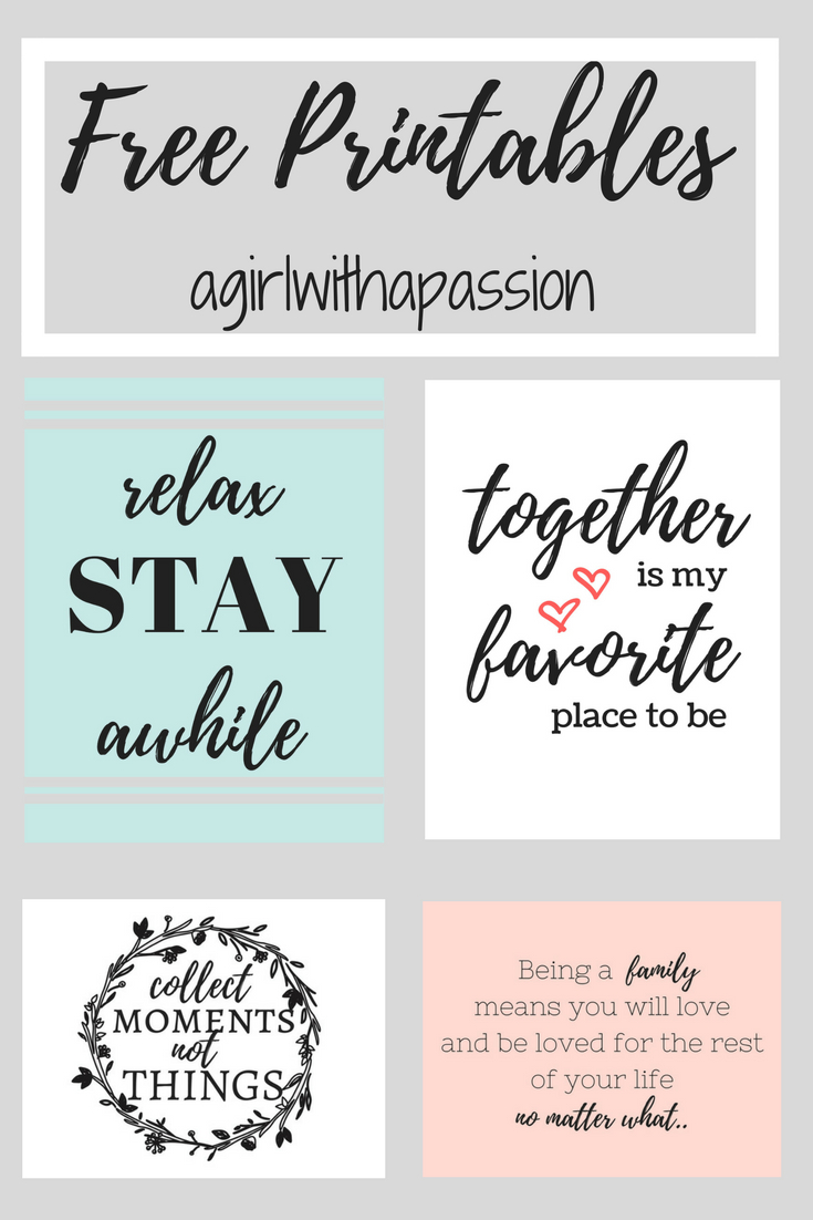 Printable Library – A Girl With A Passion | Free Printable In Most Recently Released Blended Fabric Salty But Sweet Wall Hangings (View 12 of 20)