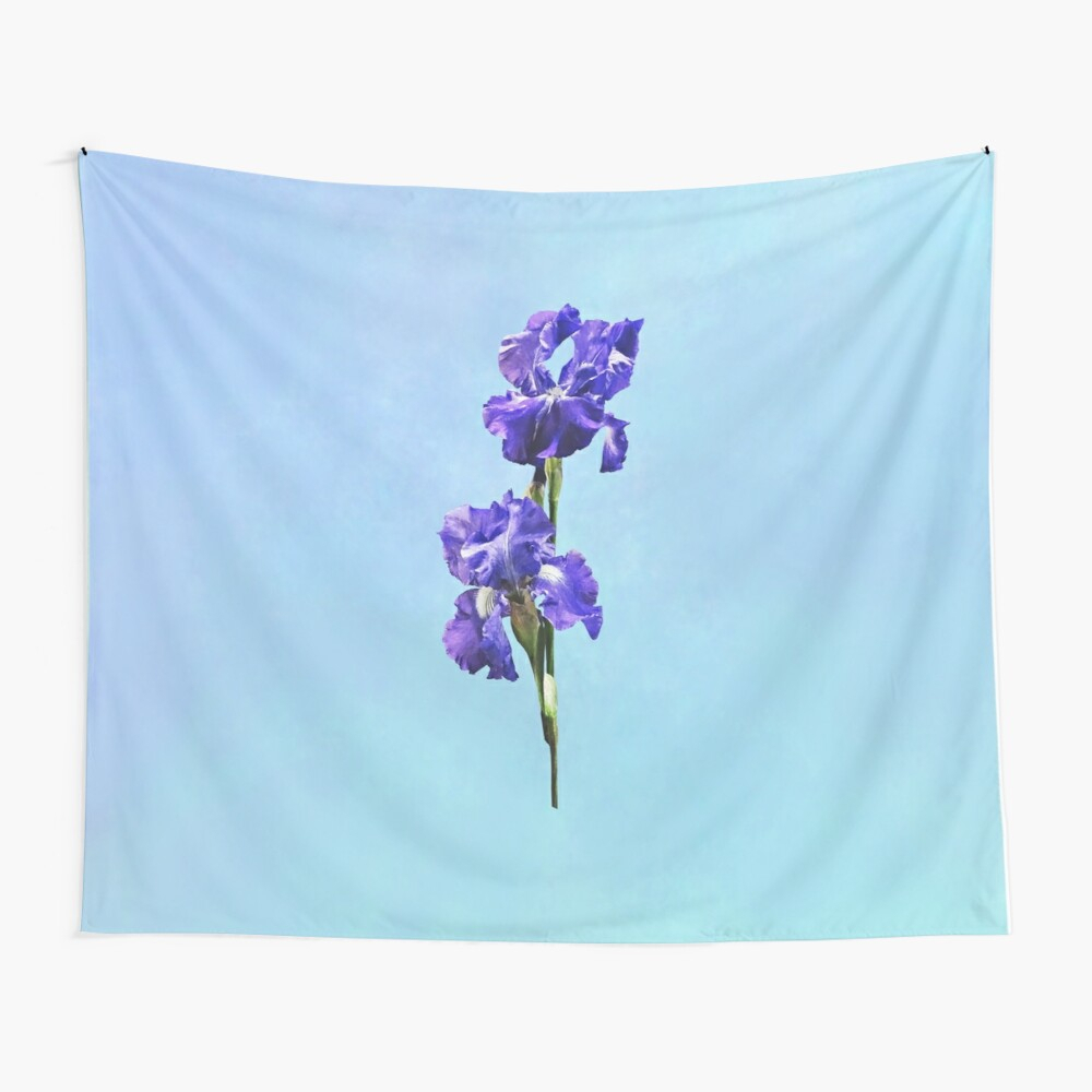 """Purple Iris Pair"""" Baby One Piecesudap0408 
