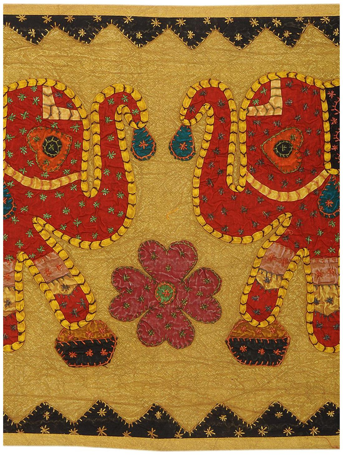 Rajrang Best Wall Hanging Cloth Tapestry Fabric Caotton With Embroidery Work Hanging Design Modern Tapestry For Home D Cor In Recent Blended Fabric Trust In The Lord Tapestries And Wall Hangings (View 9 of 20)