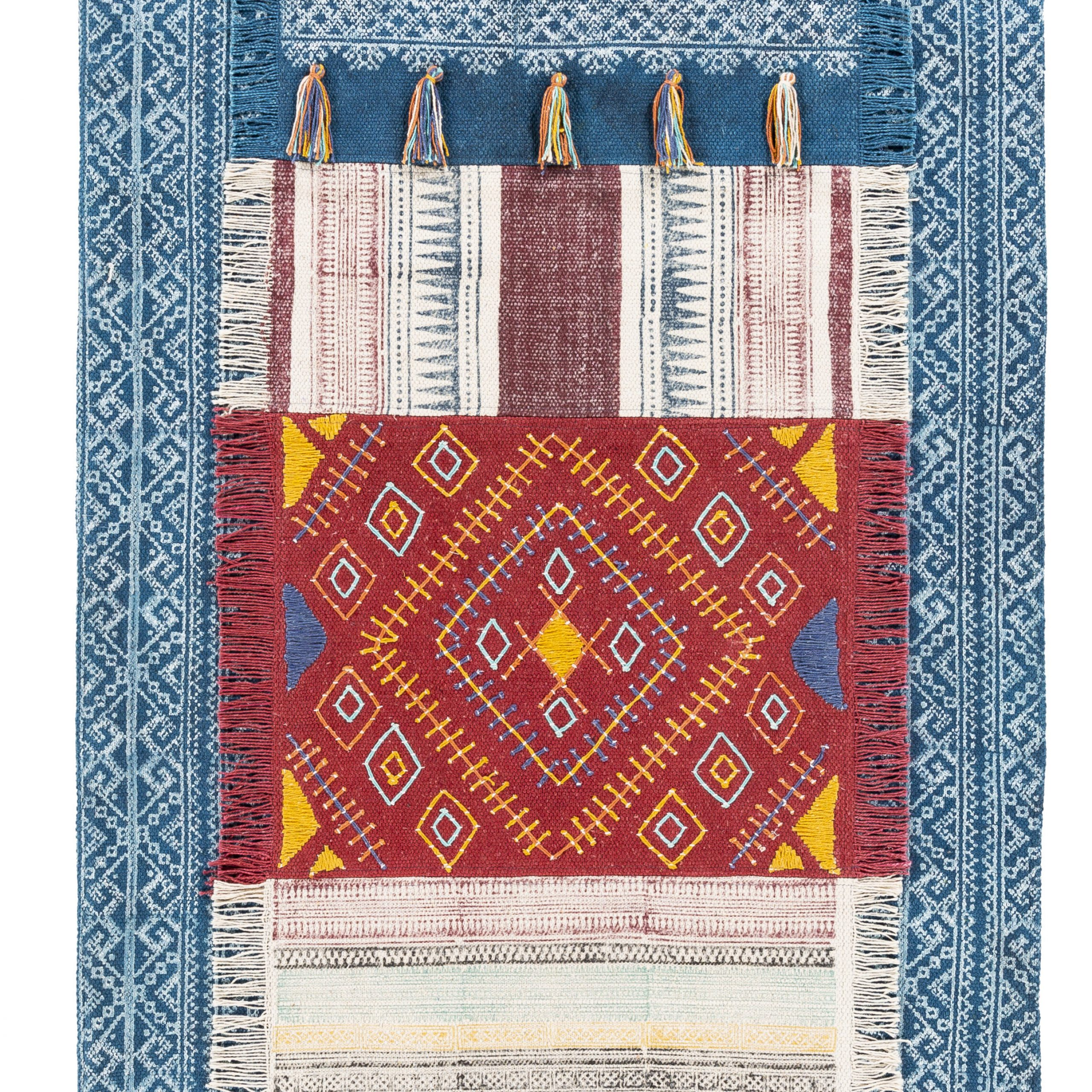 Ranier Wall Hanging With Hanging Accessories Included Throughout 2018 Blended Fabric Teresina Wool And Viscose Wall Hangings With Hanging Accessories Included (View 4 of 20)
