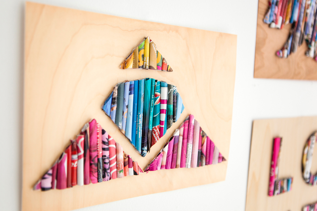 Remodelaholic | 60 Easy Art Ideas For Kids Wall Decor In Most Recent Blended Fabric Hello Beauty Full Wall Hangings (View 10 of 20)
