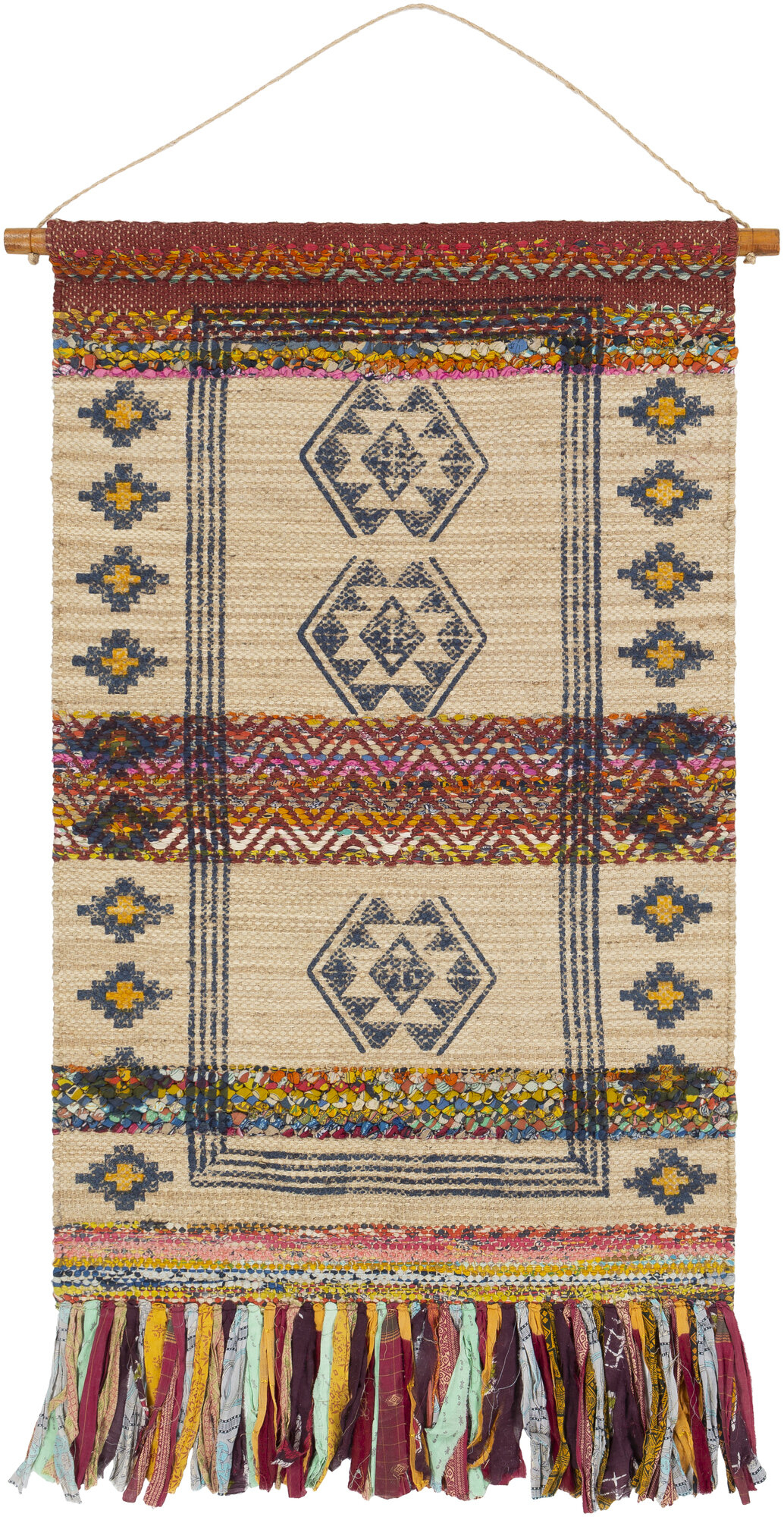 Rod Tan Tapestries You'll Love In 2021 | Wayfair For Best And Newest Blended Fabric Teresina Wool And Viscose Wall Hangings With Hanging Accessories Included (View 17 of 20)