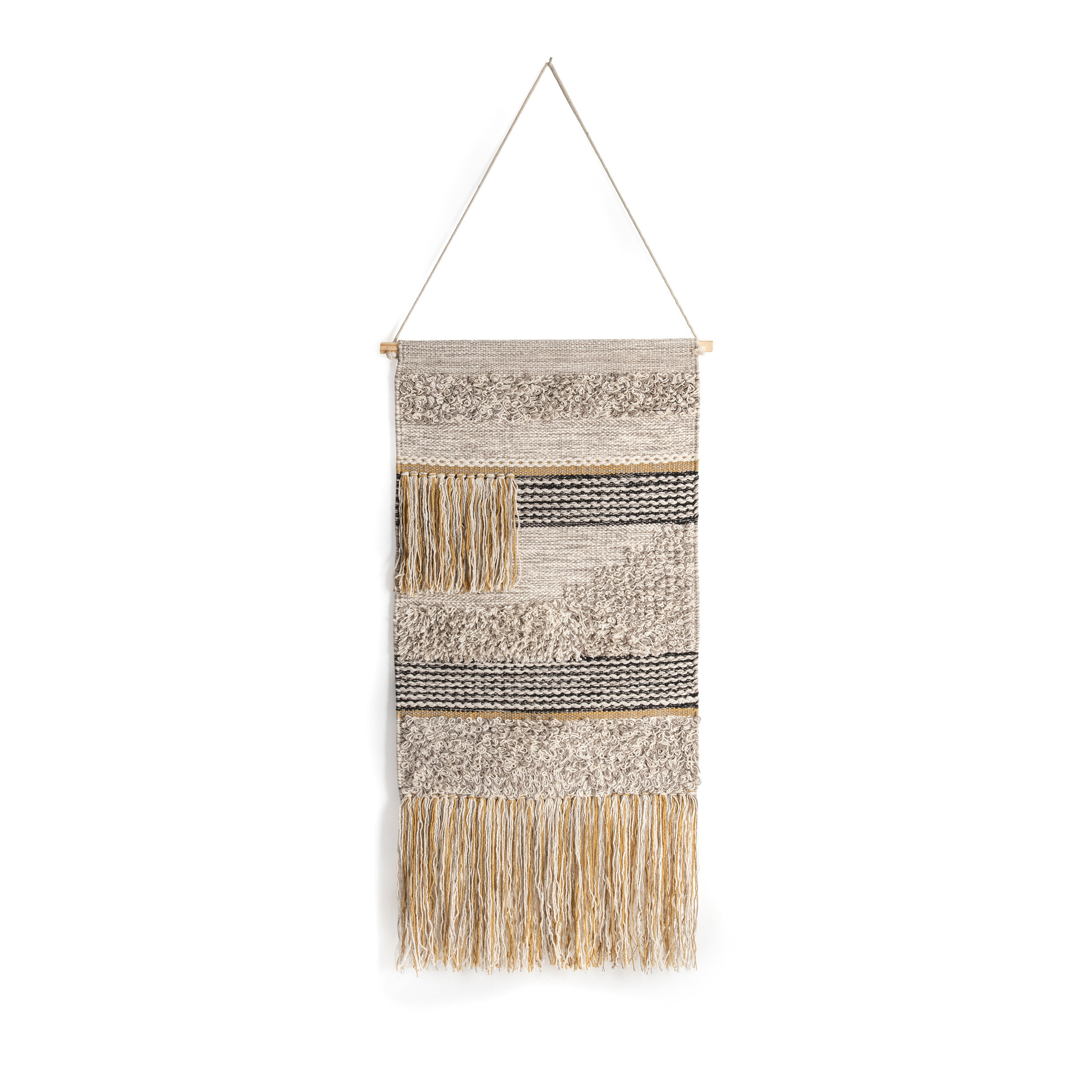 Rod Tan Tapestries You'll Love In 2021 | Wayfair Pertaining To Newest Blended Fabric Teresina Wool And Viscose Wall Hangings With Hanging Accessories Included (View 6 of 20)