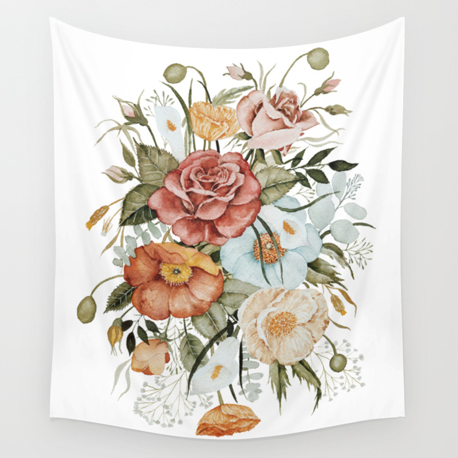 Featured Photo of Roses I Tapestries
