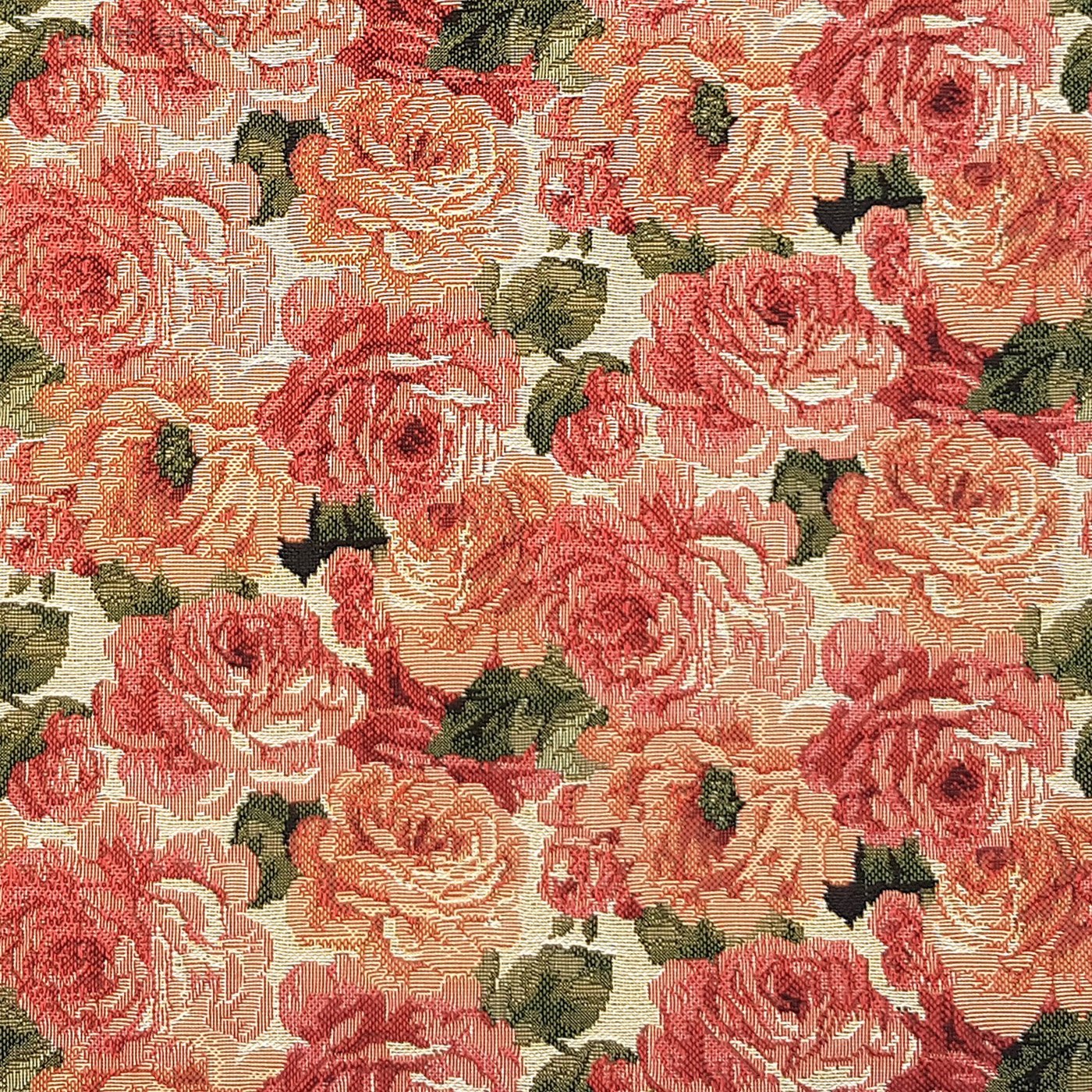 Roses – Classic Flowers – Tapestry Cushions – Mille Fleurs Intended For Recent Roses I Tapestries (View 15 of 20)