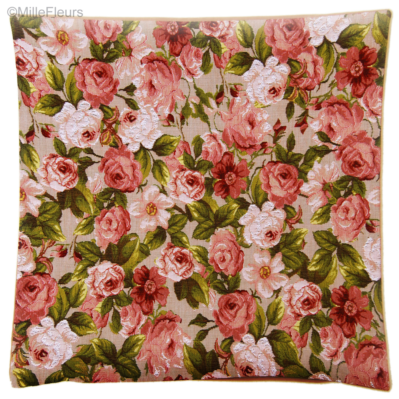 Roses – *** Clearence Sales *** – Tapestry Cushions – Mille Intended For 2018 Roses I Tapestries (View 13 of 20)