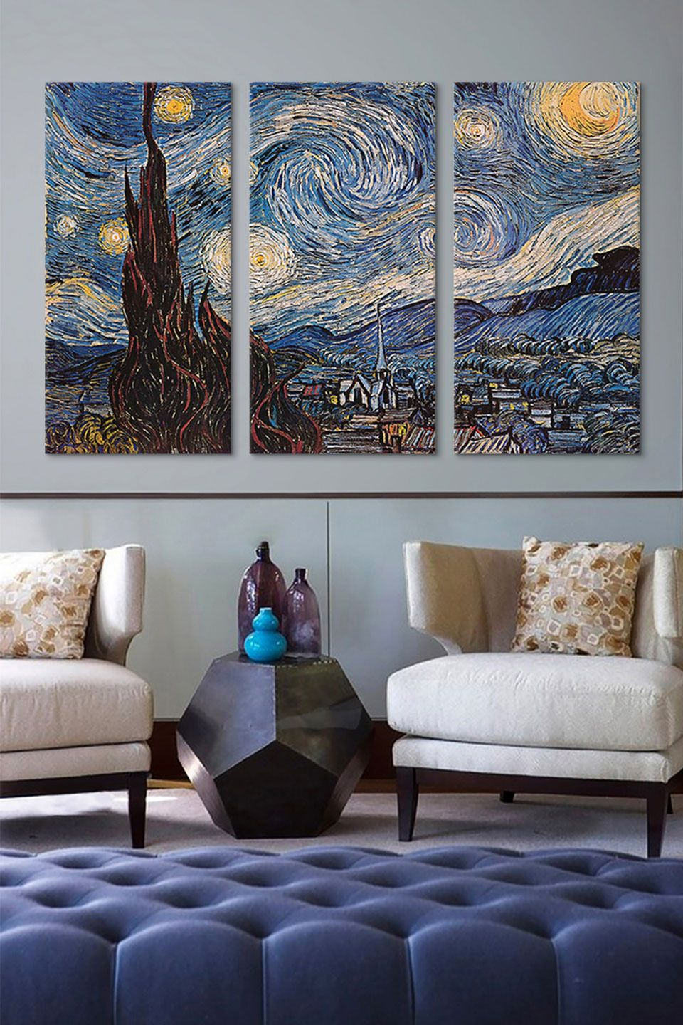 Sales Events | Official | Starry Night Bedroom, Starry Night Pertaining To Best And Newest Blended Fabric Van Gogh Terrace Wall Hangings (View 18 of 20)
