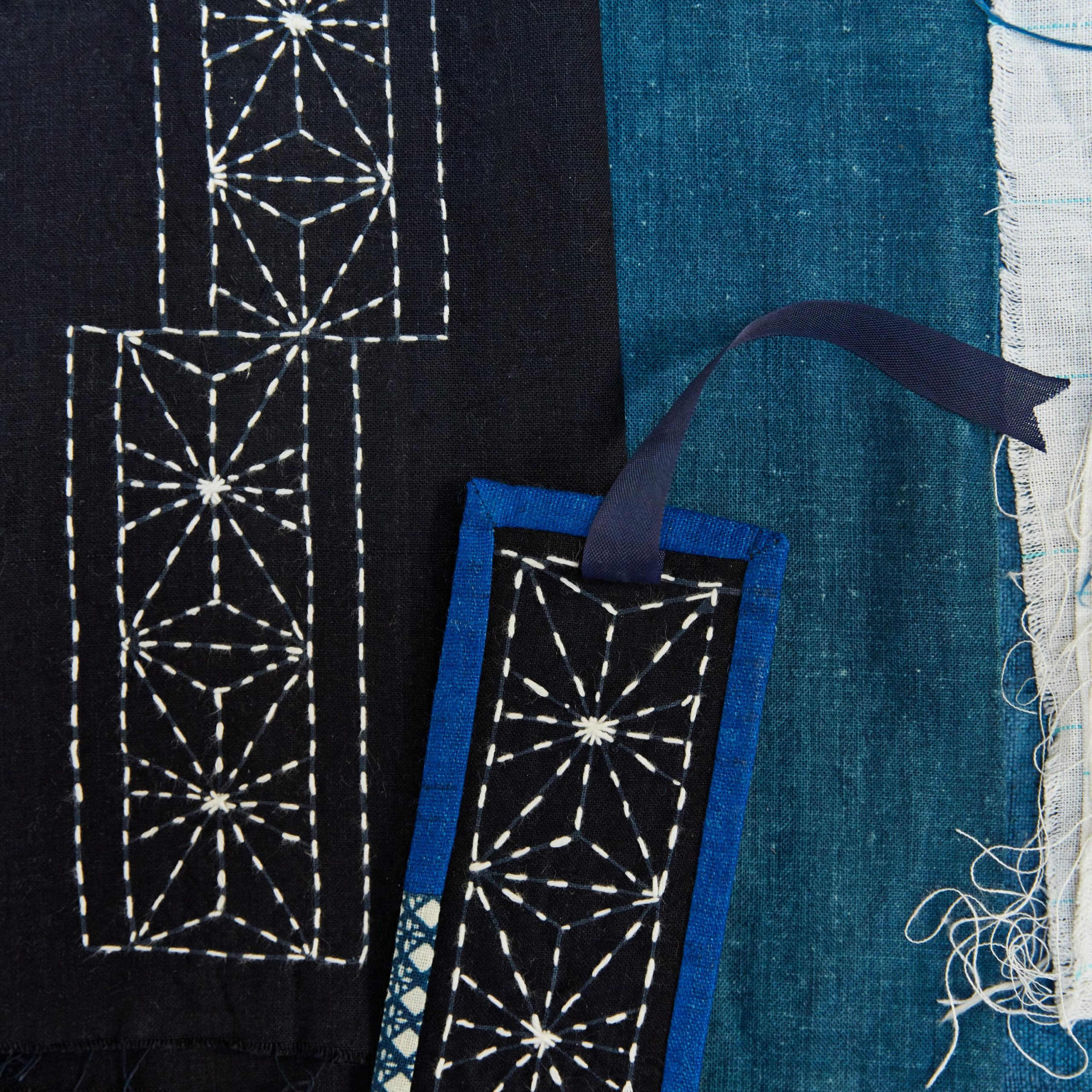 Sashiko: The Japanese Art Of Mending Fabric With Beautiful Intended For Best And Newest Blended Fabric Hello Beauty Full Wall Hangings (View 18 of 20)