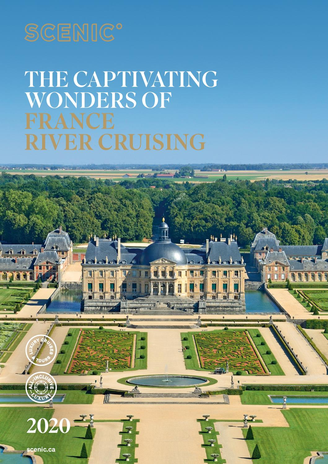 Scenic France River Cruising 2020scenic Canada – Issuu Pertaining To Best And Newest Blended Fabric Chateau Bellevue European Tapestries (View 17 of 20)