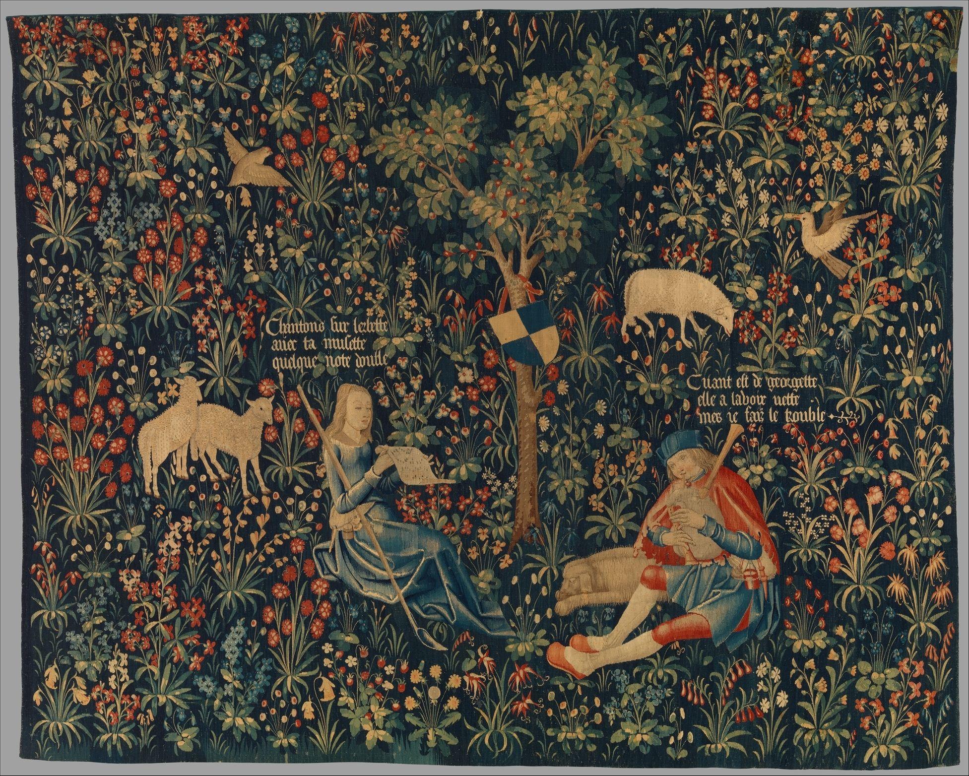 Shepherd And Shepherdess Making Music. Date: Ca (View 5 of 20)