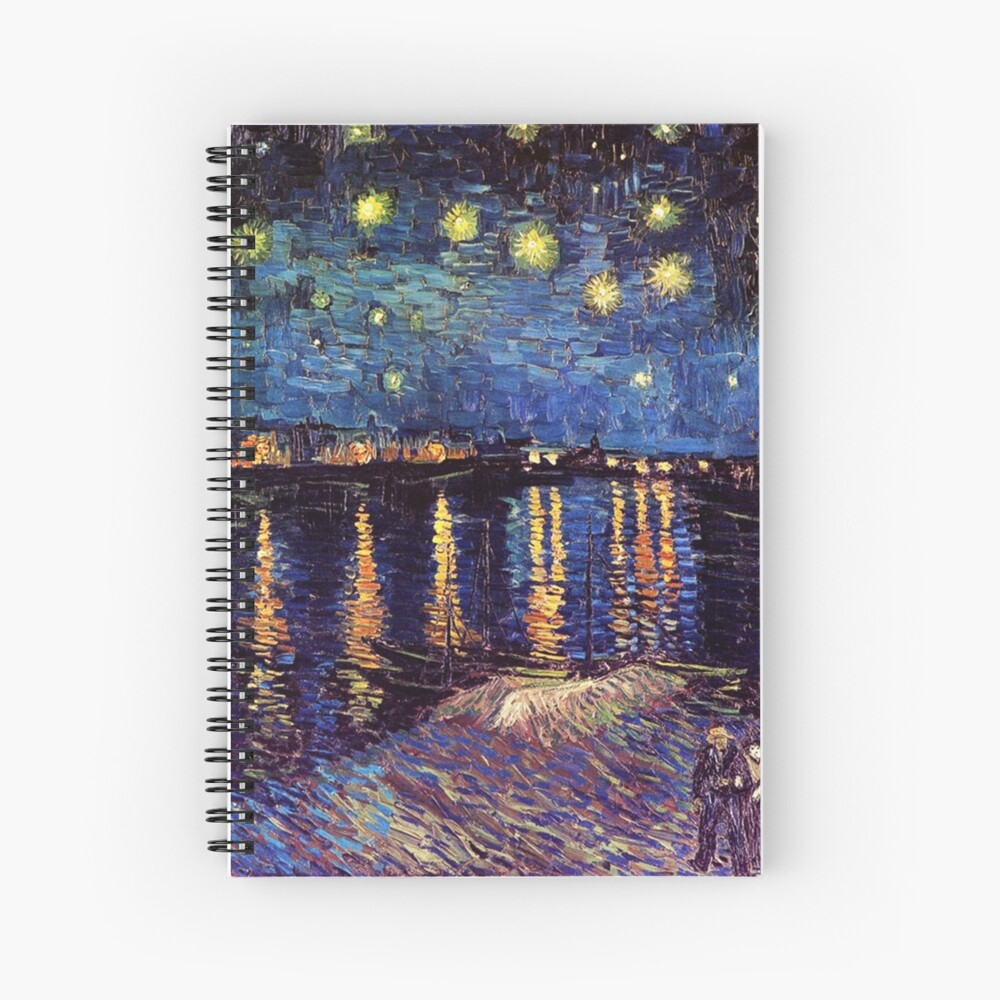 """Starry Night Over The Rhone, Vincent Van Gogh"""" Throw Pillow Within Most Up To Date Blended Fabric Van Gogh Starry Night Over The Rhone Wall Hangings (View 14 of 20)"""