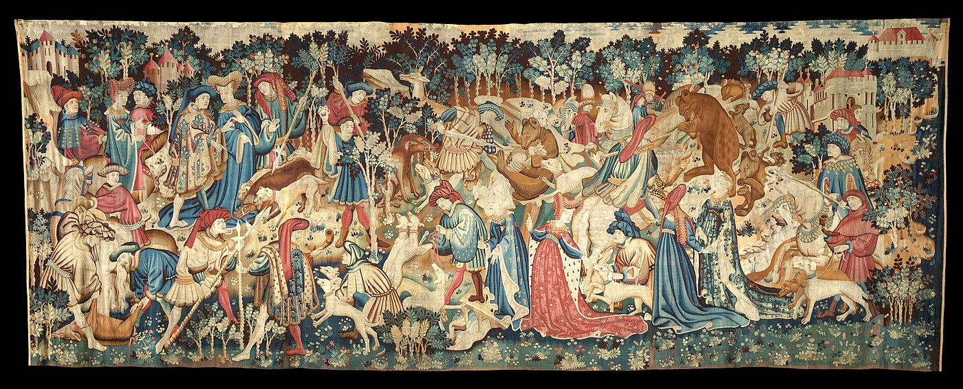 Tapestry – Wikiwand Throughout 2017 Blended Fabric European Five English Horses Tapestries (View 10 of 20)