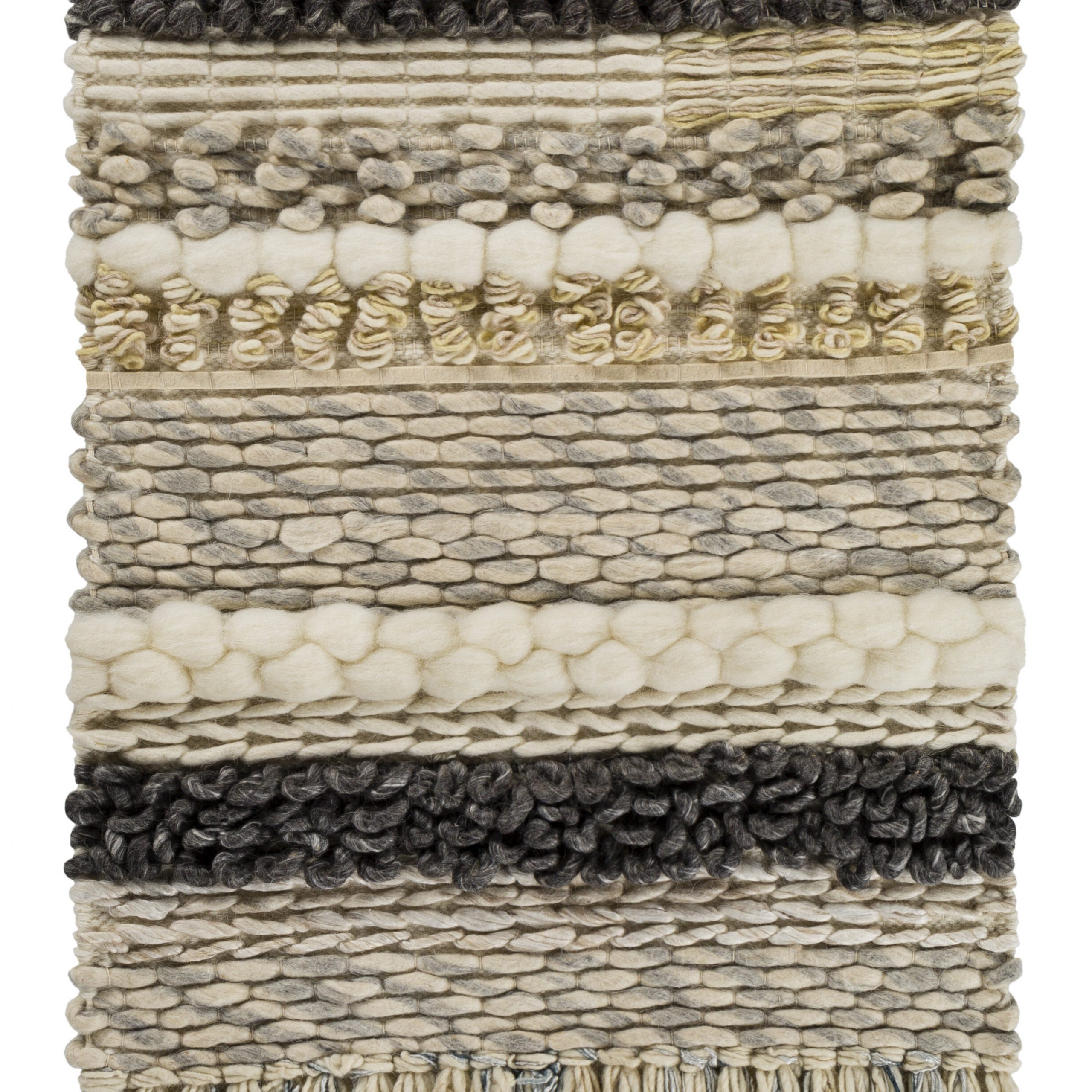 Featured Photo of Blended Fabric Teresina Wool and Viscose Wall Hangings with Hanging Accessories Included