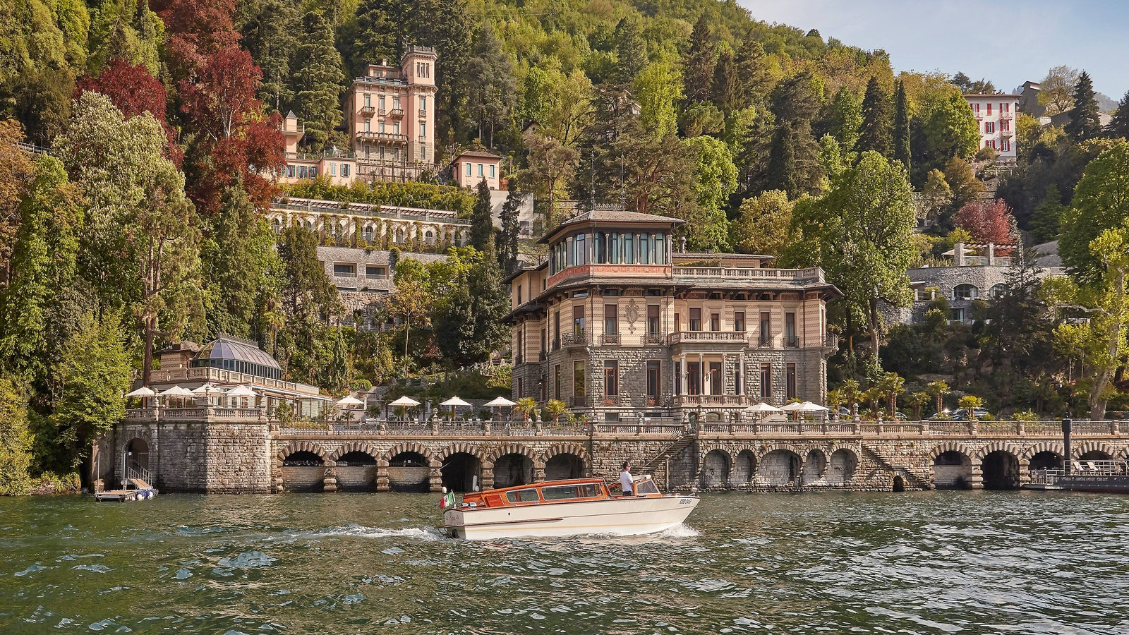 The Best New Hotels In The World: 2020 Hot List | Condé Nast For Most Recently Released Blended Fabric Lago Di Como Ii Wall Hangings (View 12 of 20)