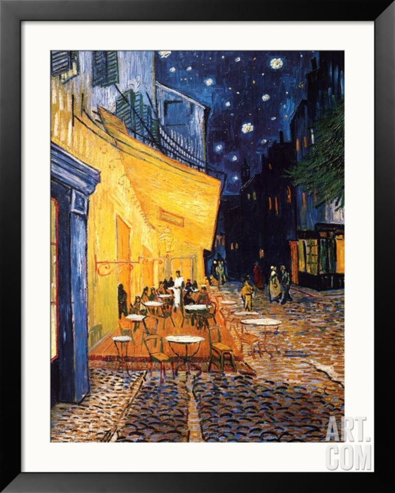 The Café Terrace On The Place Du Forum, Arles, At Night, C With Regard To Recent Blended Fabric Van Gogh Terrace Wall Hangings (View 5 of 20)