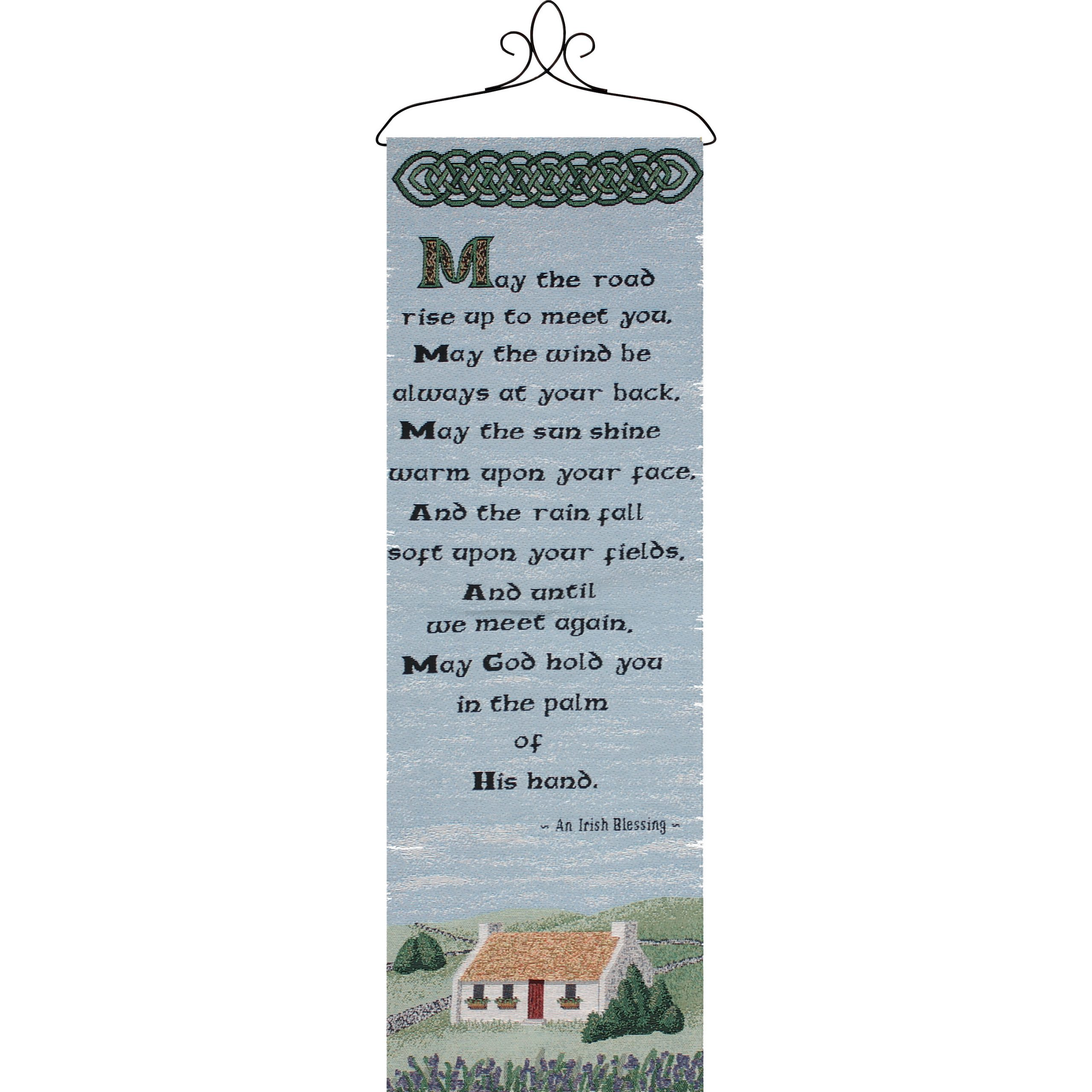 The Road Rises Wall Panel With Topper Tapestry And Wall Hanging In Newest Blended Fabric Hello Beauty Full Wall Hangings (View 15 of 20)