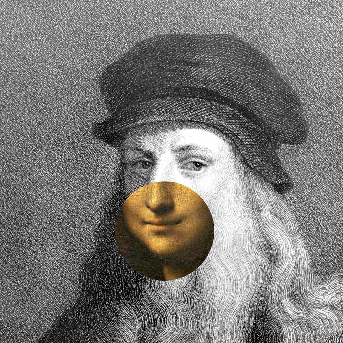 The Secret Lives Of Leonardo Da Vinci   The New Yorker In Current Blended Fabric Leonardo Davinci The Last Supper Wall Hangings (View 18 of 20)