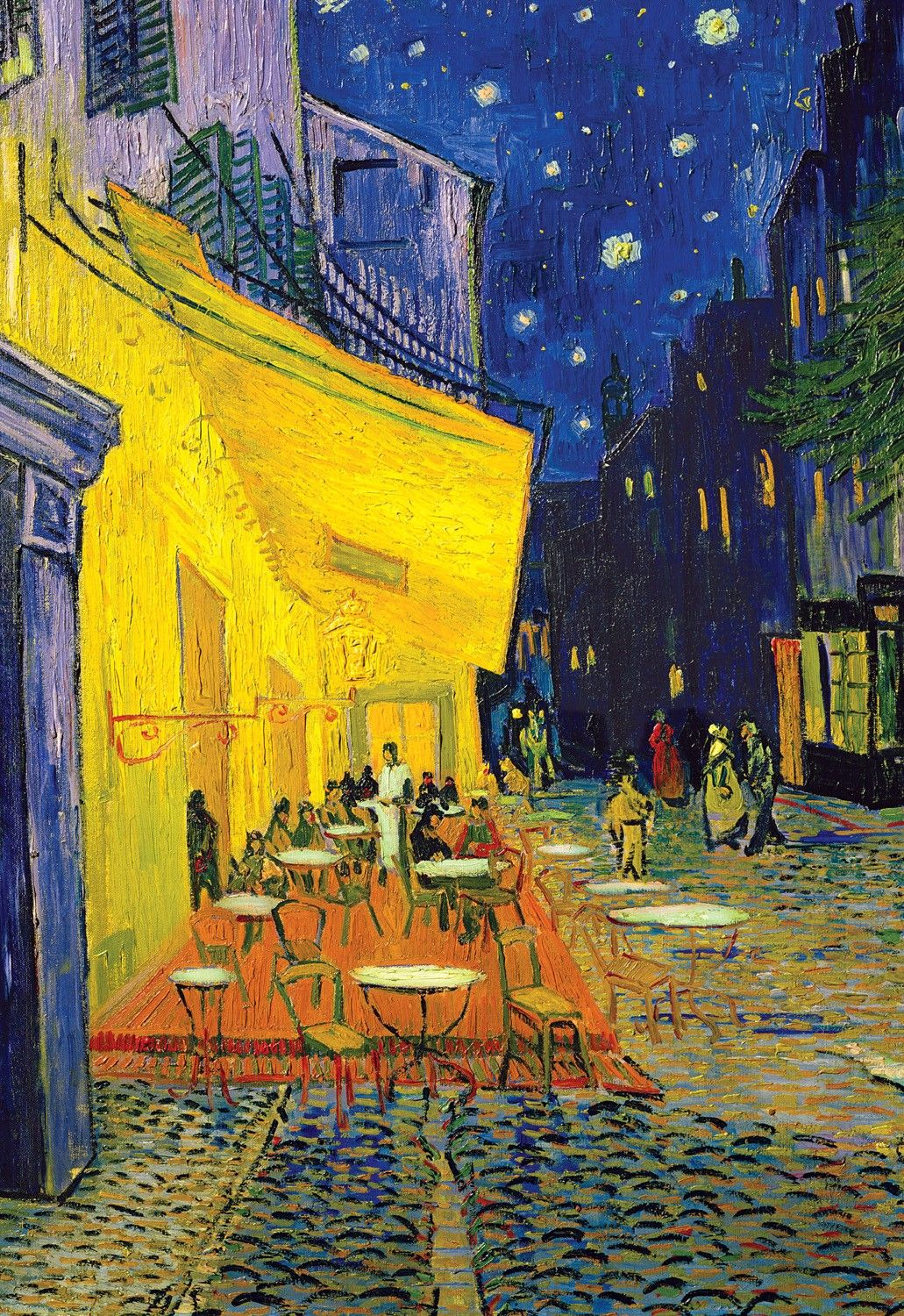 This Has Been One Of My Favorites Ever Since I Had To Write Inside Most Up To Date Blended Fabric Van Gogh Terrace Wall Hangings (View 4 of 20)