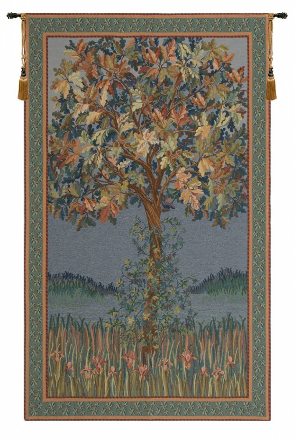 Tree Of Life Flanders Tapestry With Latest Blended Fabric Garden Of Gethsemane Tapestries And Wall Hangings (View 2 of 20)