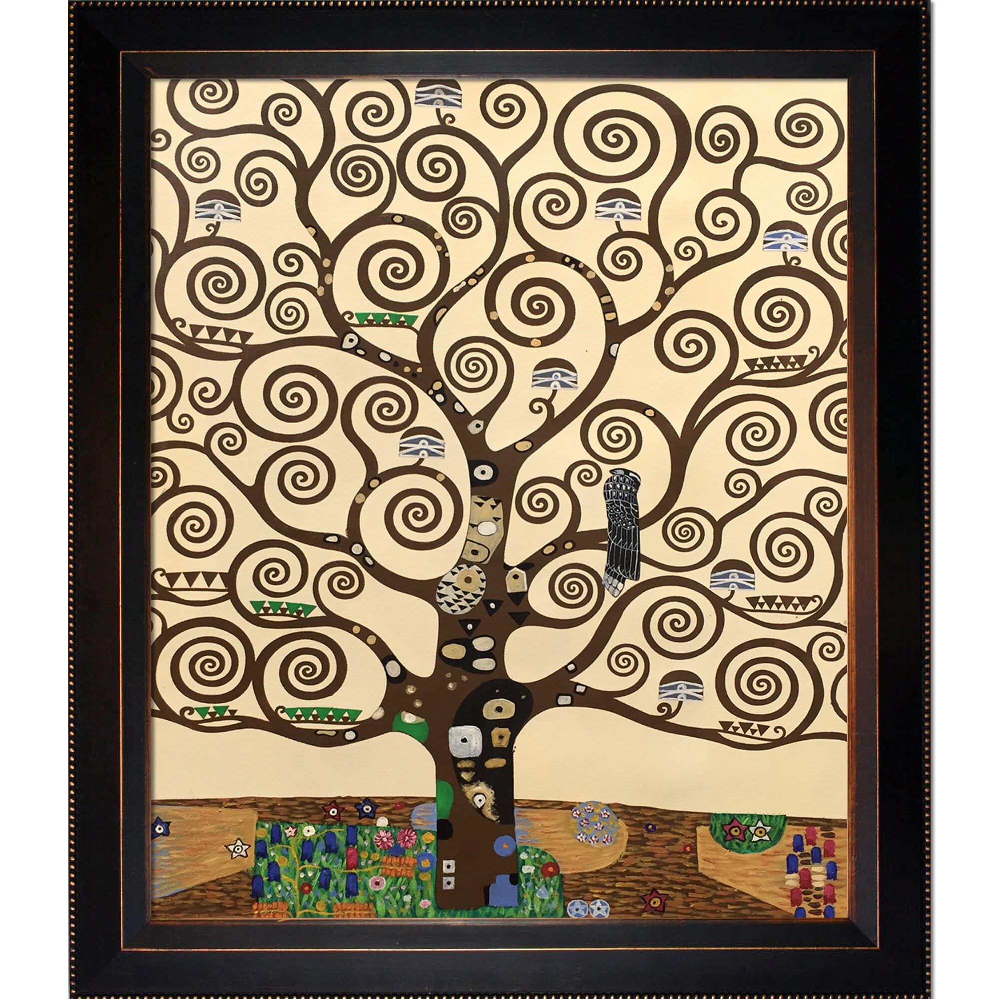 Tree Of Lifegustav Klimt – Wrapped Canvas Painting Print For Most Recently Released Blended Fabric Klimt Tree Of Life Wall Hangings (View 5 of 20)