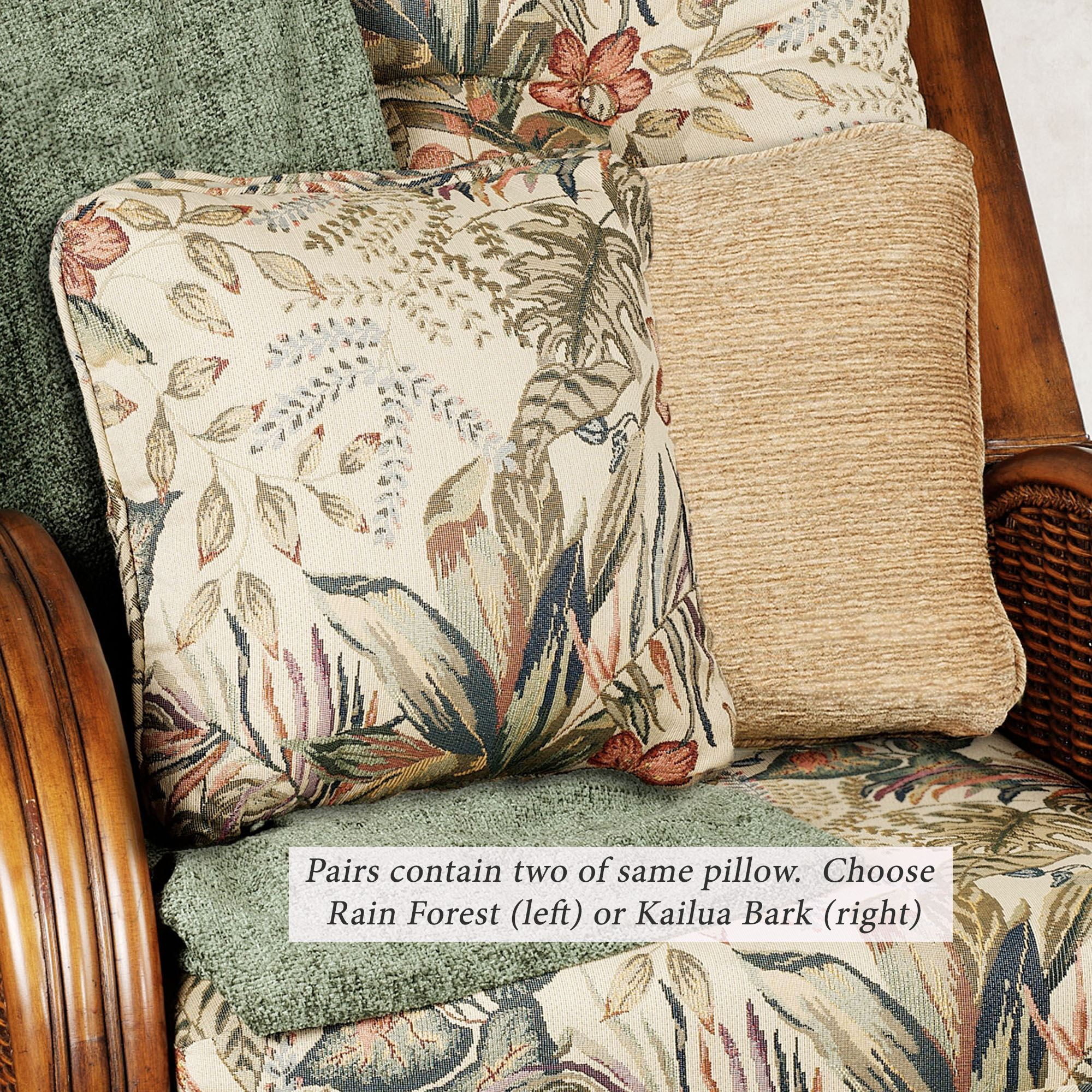 Tropical Pomona Pillow Pairs In Current Blended Fabric The Pomona Wall Hangings (View 3 of 20)
