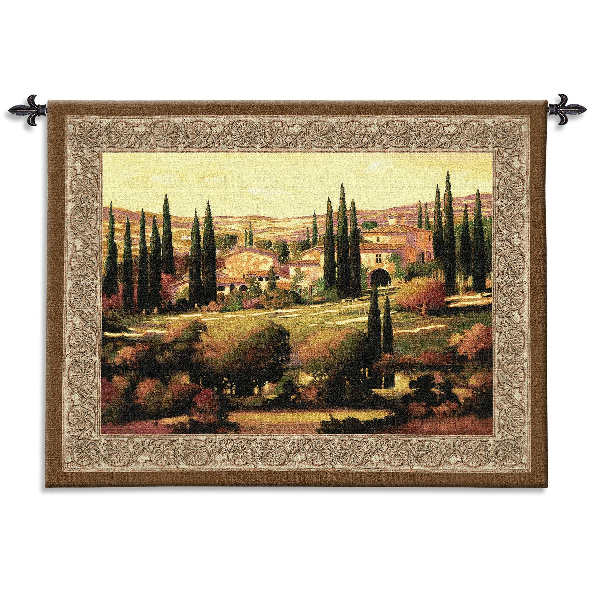 Tuscan Tapestry For Best And Newest Blended Fabric Gallanteries European Wall Hangings (View 6 of 20)