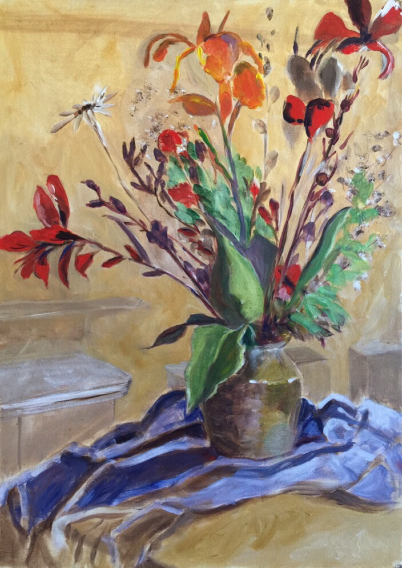 Uncategorized | Jane Crathern's Oca Practice Of Painting Log Pertaining To Most Recently Released Blended Fabric Spring Bouquet By Renoir Tapestries (View 10 of 20)