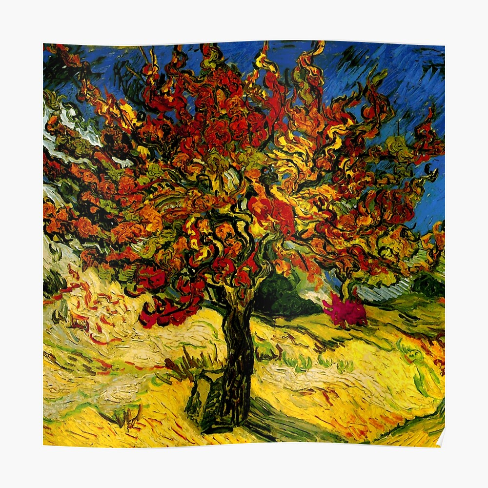 """Van Gogh Mulberry Tree"""" Tapestrybragova 