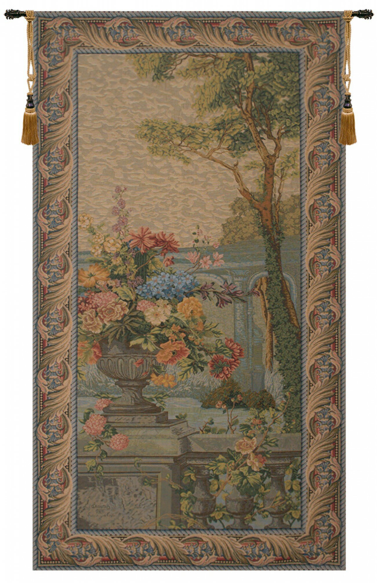 Veranda View European Wall Hanging For Latest Blended Fabric Van Gogh Terrace Wall Hangings (View 7 of 20)