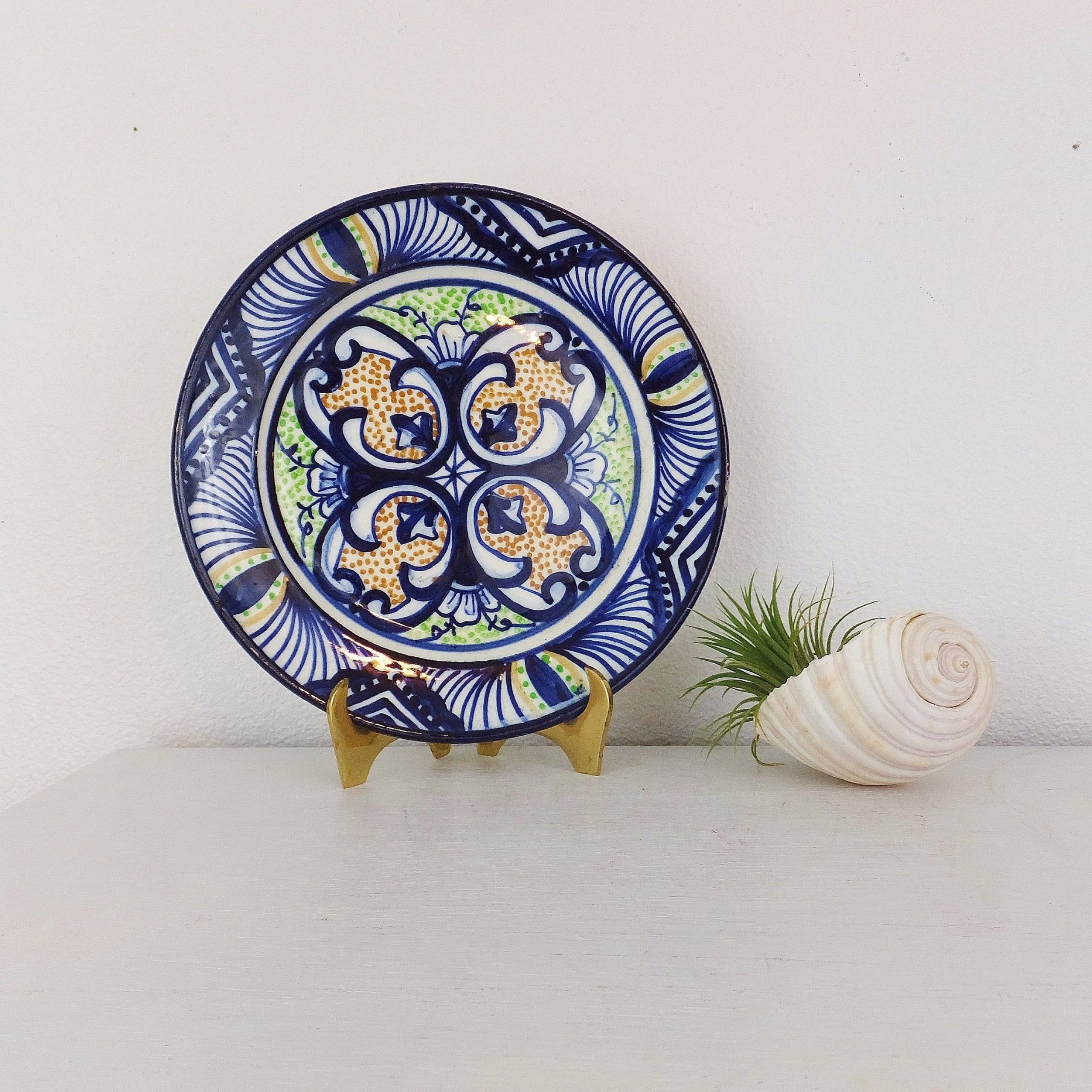 Vintage Spanish Plate P Zorrilla Wall Hanging Display Plate Throughout Latest Blended Fabric Salty But Sweet Wall Hangings (View 5 of 20)