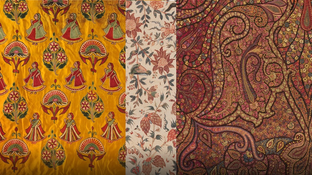 Visual Inspiration: Indian Textiles |vinita Mathur | Ux Regarding Most Recently Released Blended Fabric Peacock European Tapestries (View 17 of 20)