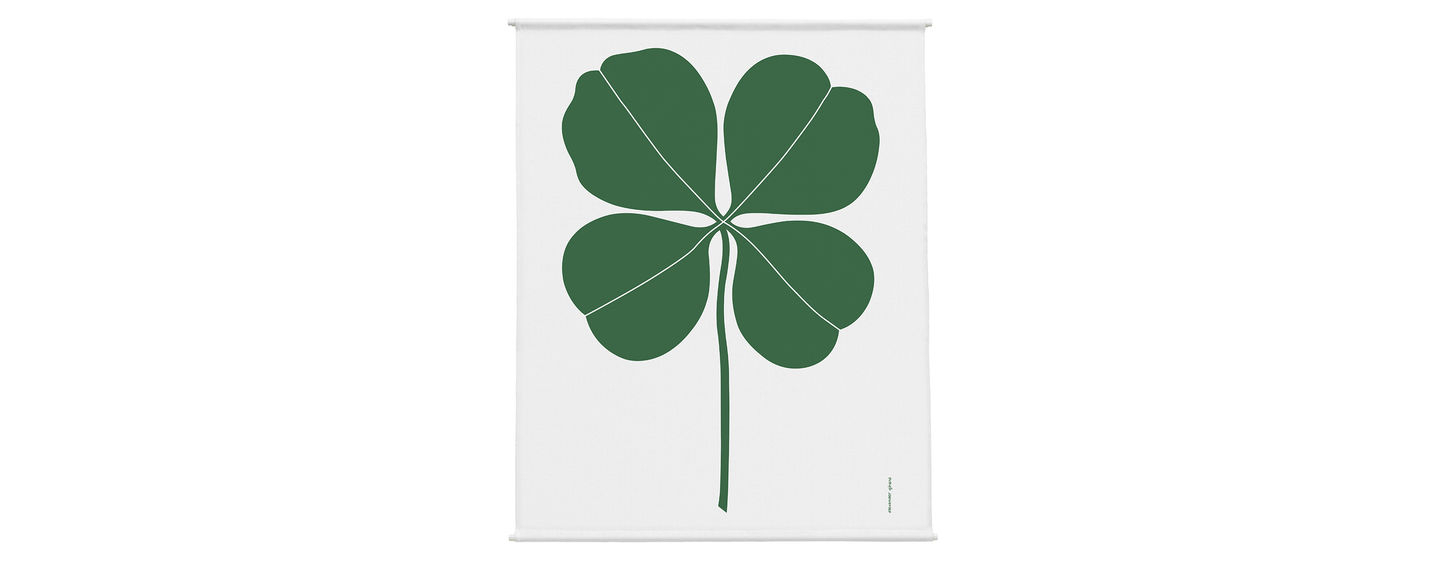 Vitra   Environmental Wall Hanging – Four Leaf Clover Within Most Up To Date Blended Fabric Leaf Wall Hangings (View 14 of 20)