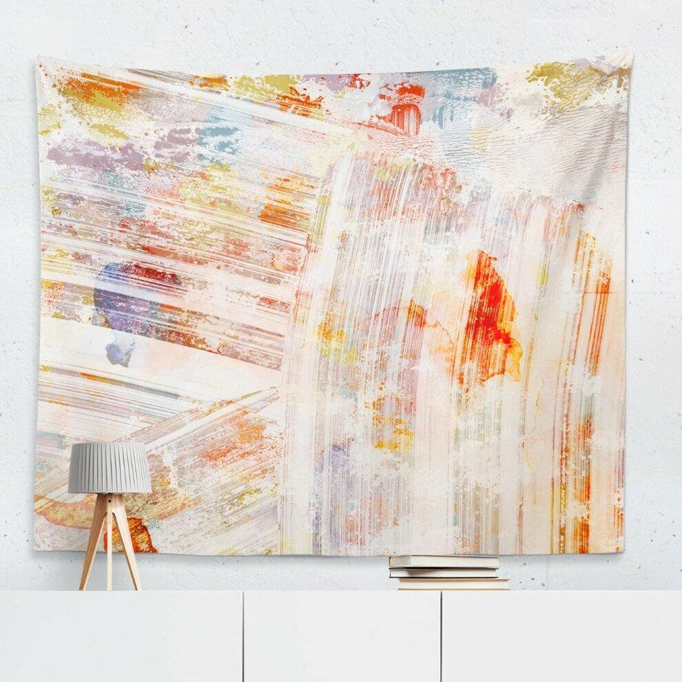 'viva La Vida' Wall Tapestry Regarding Recent Blended Fabric Mucha Autumn European Wall Hangings (View 9 of 20)