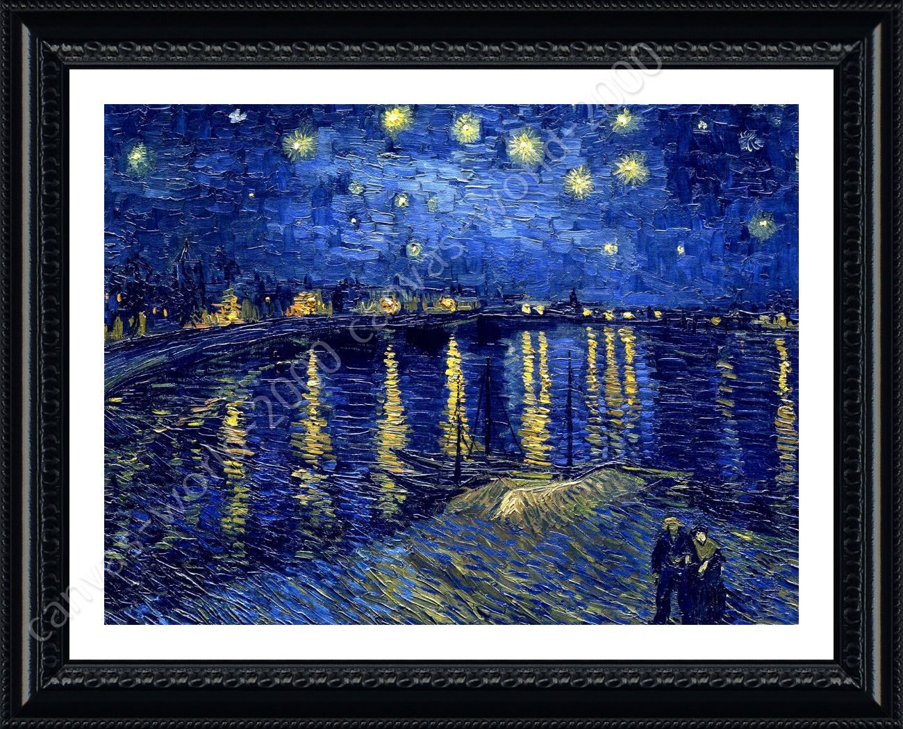 Wall Décor Starry Night Over The Rhone Vincent Van Gogh For Current Blended Fabric Van Gogh Starry Night Over The Rhone Wall Hangings (View 3 of 20)