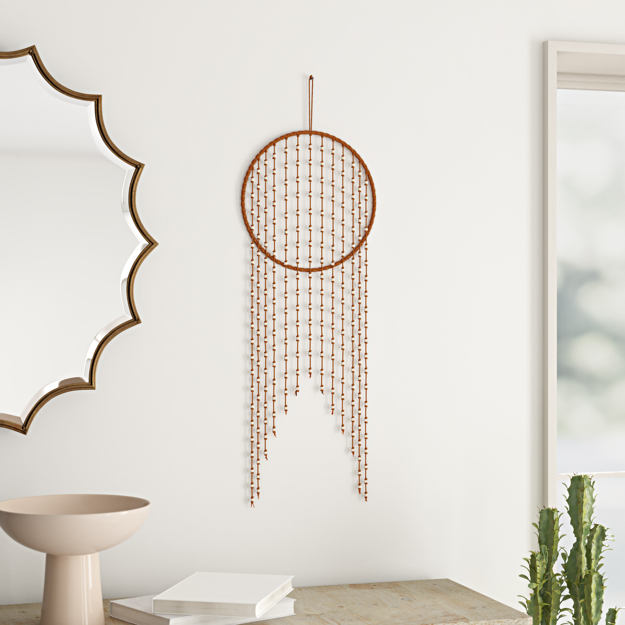 Wall Hanging Macrame | Free Shipping Over $35 | Wayfair For Current Blended Fabric Saber Wall Hangings With Rod (View 13 of 20)