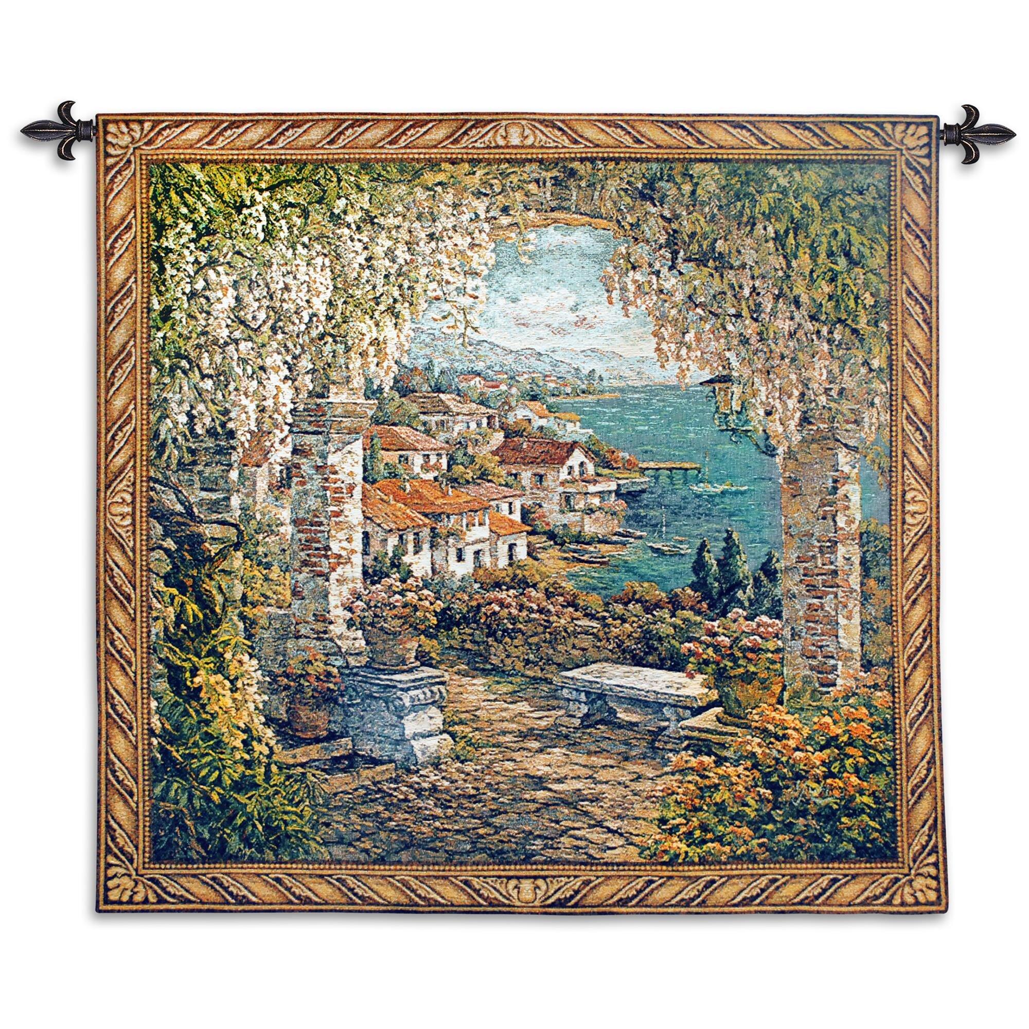 Washable Fleur De Lis Living Tapestries You'll Love In 2021 Regarding Current Blended Fabric Saint Joseph European Tapestries (View 3 of 20)