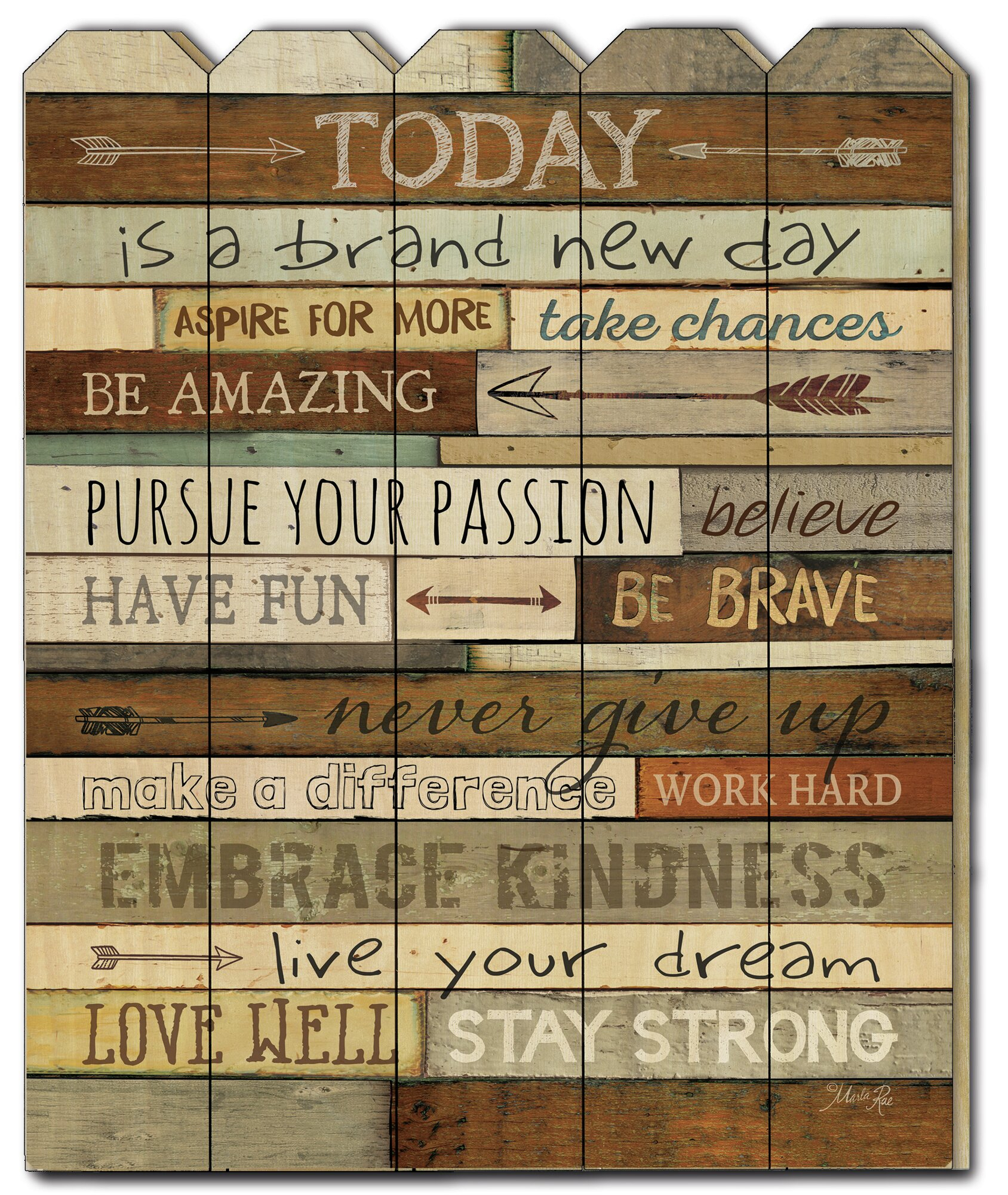 Wayfair   Other Quotes & Sayings Wall Art You'll Love In 2021 With Newest Blended Fabric The Road Rises Wall Panel With Topper Tapestries And Wall Hangings (View 14 of 20)