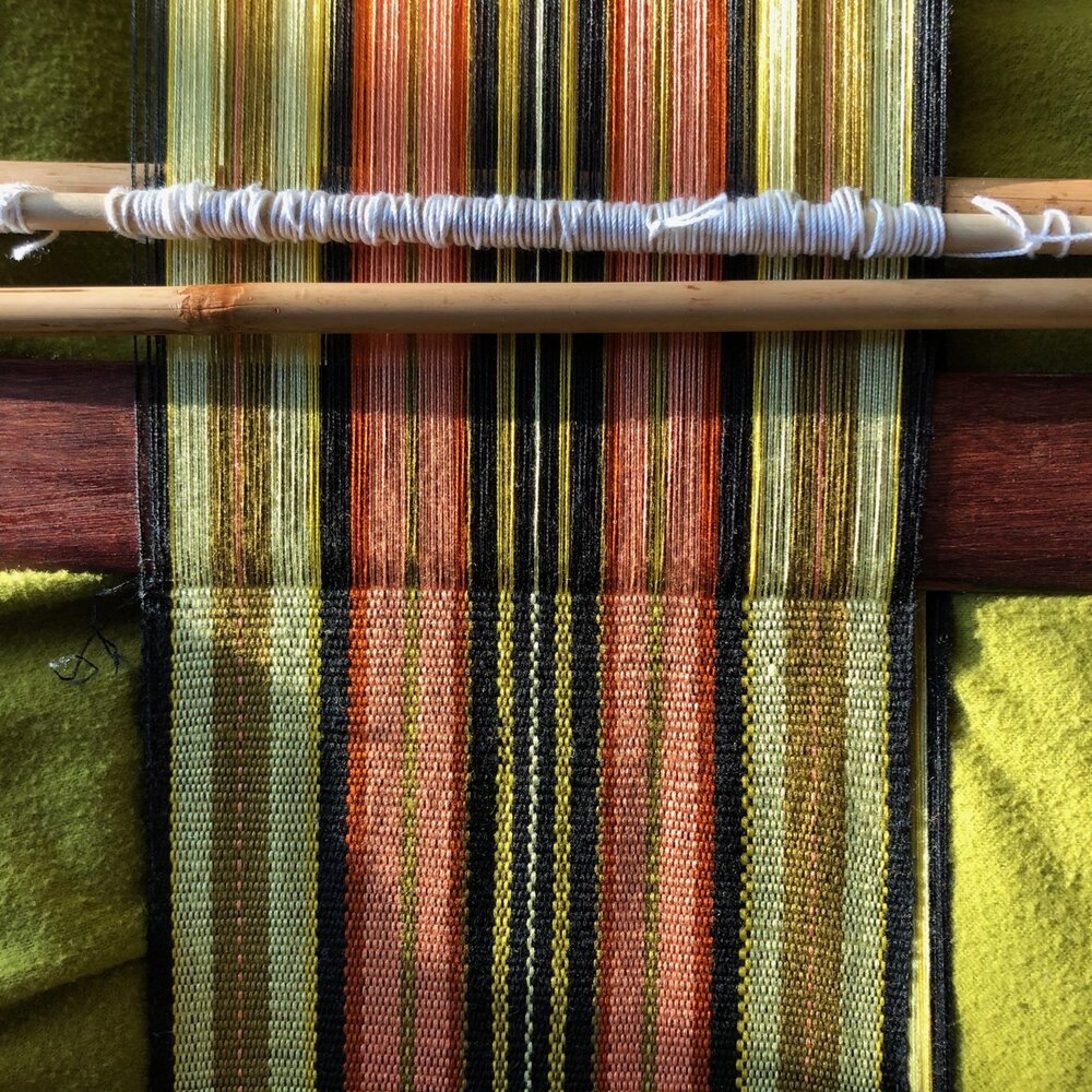Weaving (blog) — Eine Saite In Most Current Blended Fabric Fringed Design Woven With Rod (View 14 of 20)