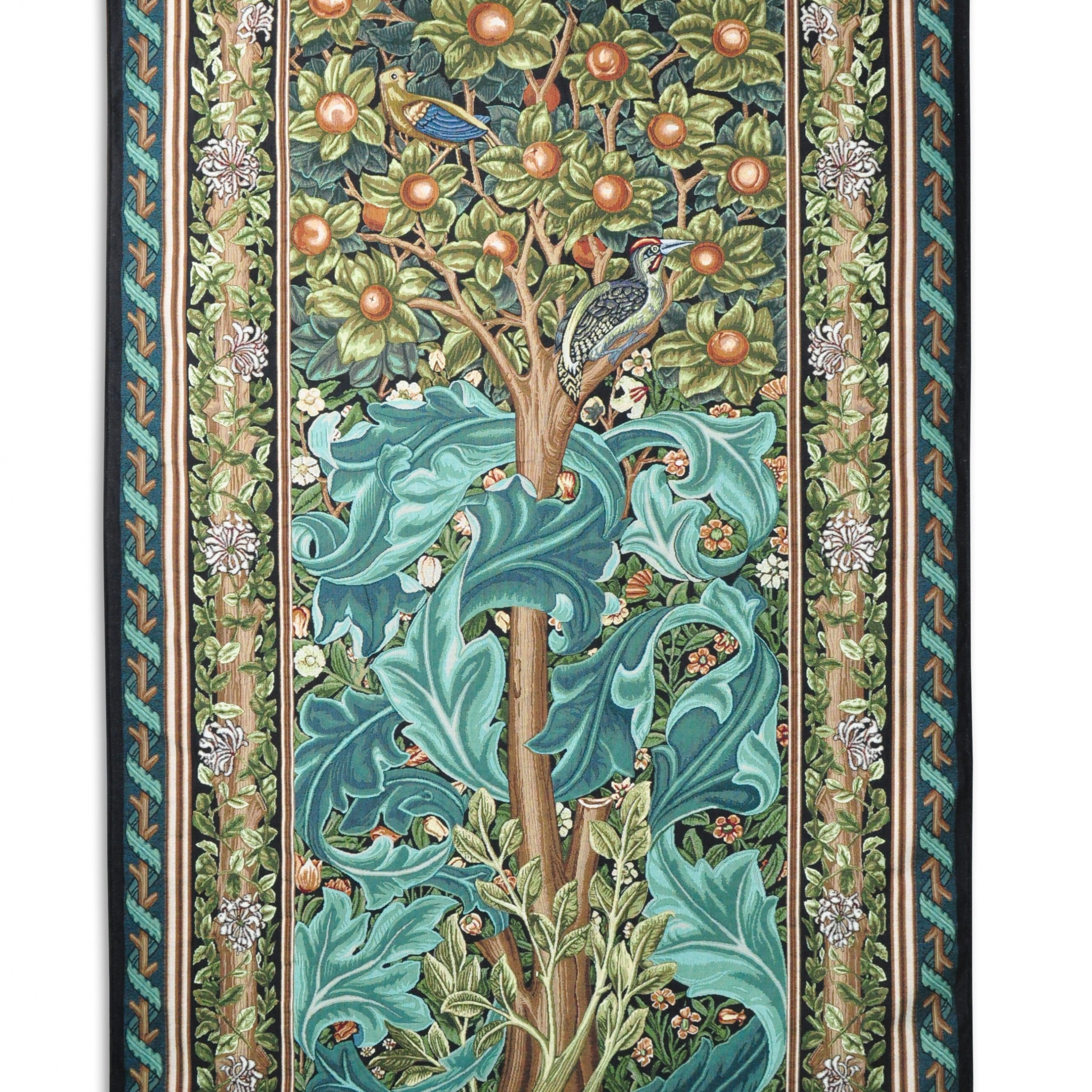 Woodpecker Iiwilliam Morris Tapestry Throughout 2017 Blended Fabric Woodpecker European Tapestries (View 2 of 20)
